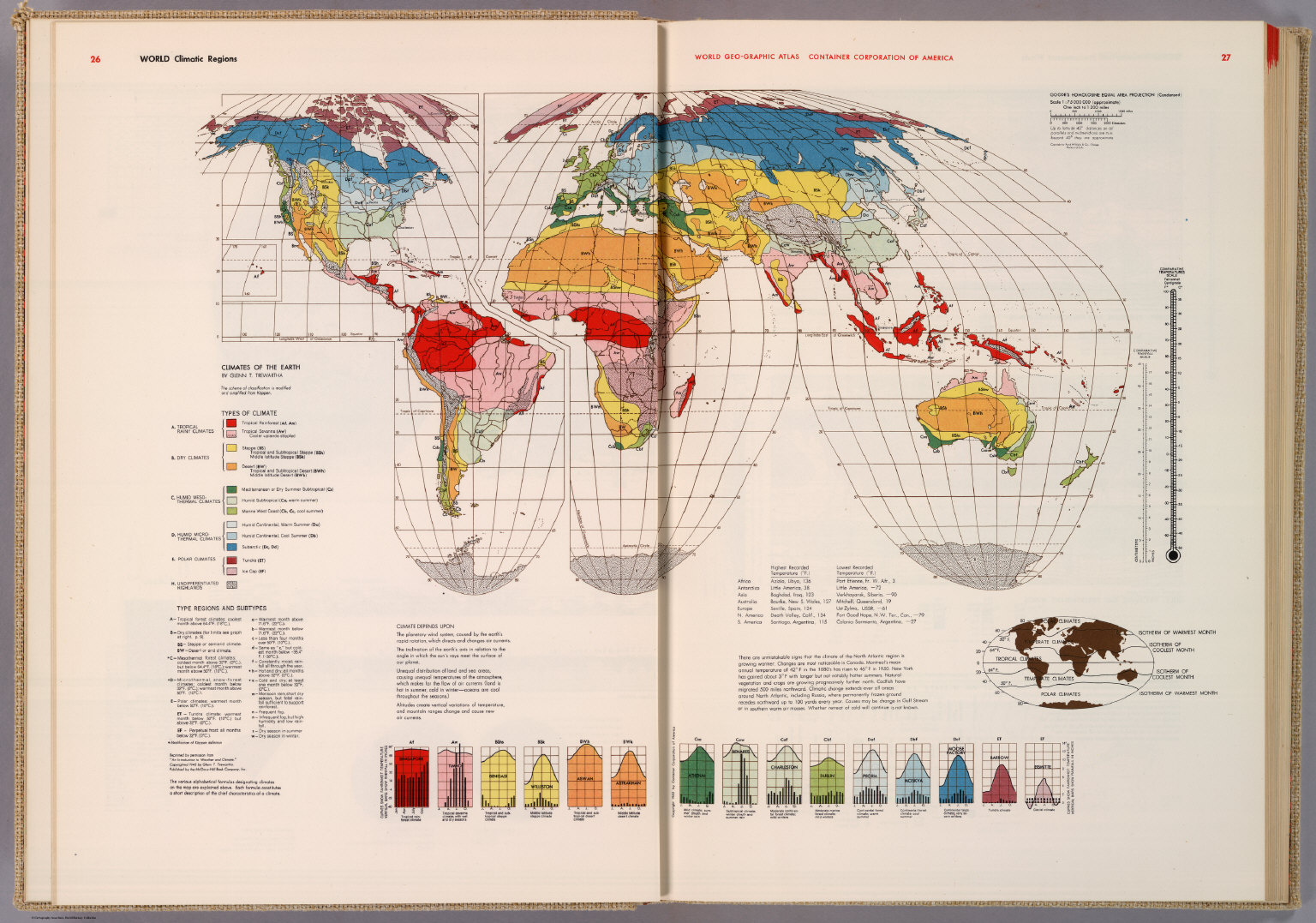 World climatic regions david rumsey historical map collection world climatic regions gumiabroncs Gallery