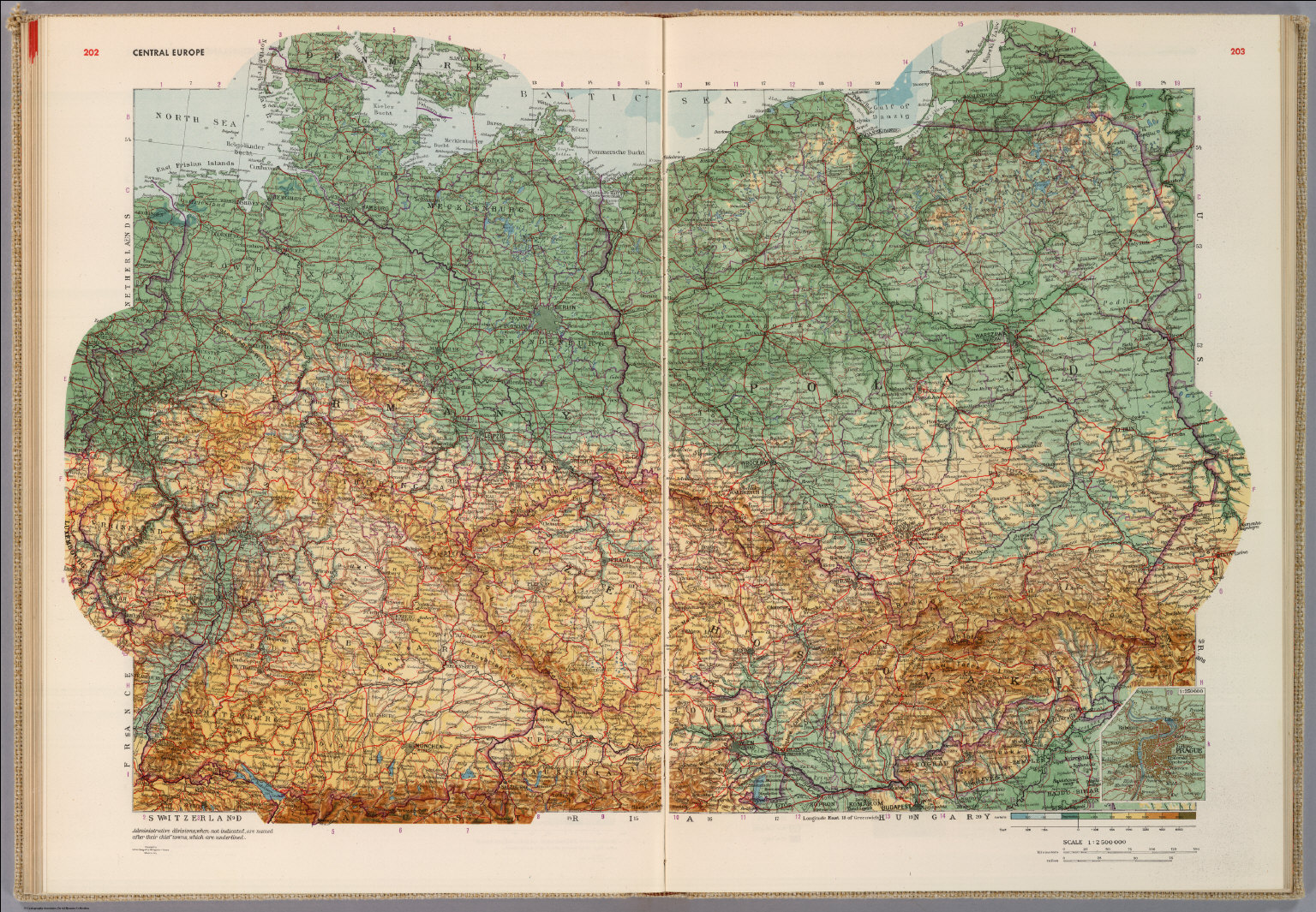 Central Europe. - David Rumsey Historical Map Collection