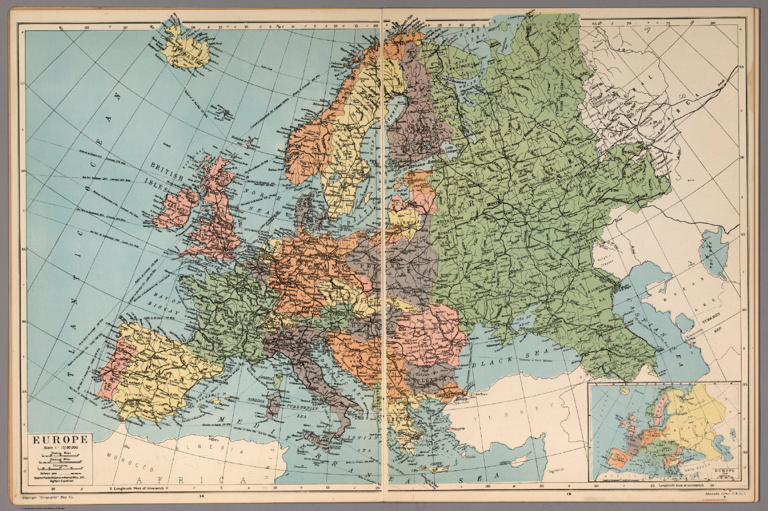 Europe - David Rumsey Historical Map Collection