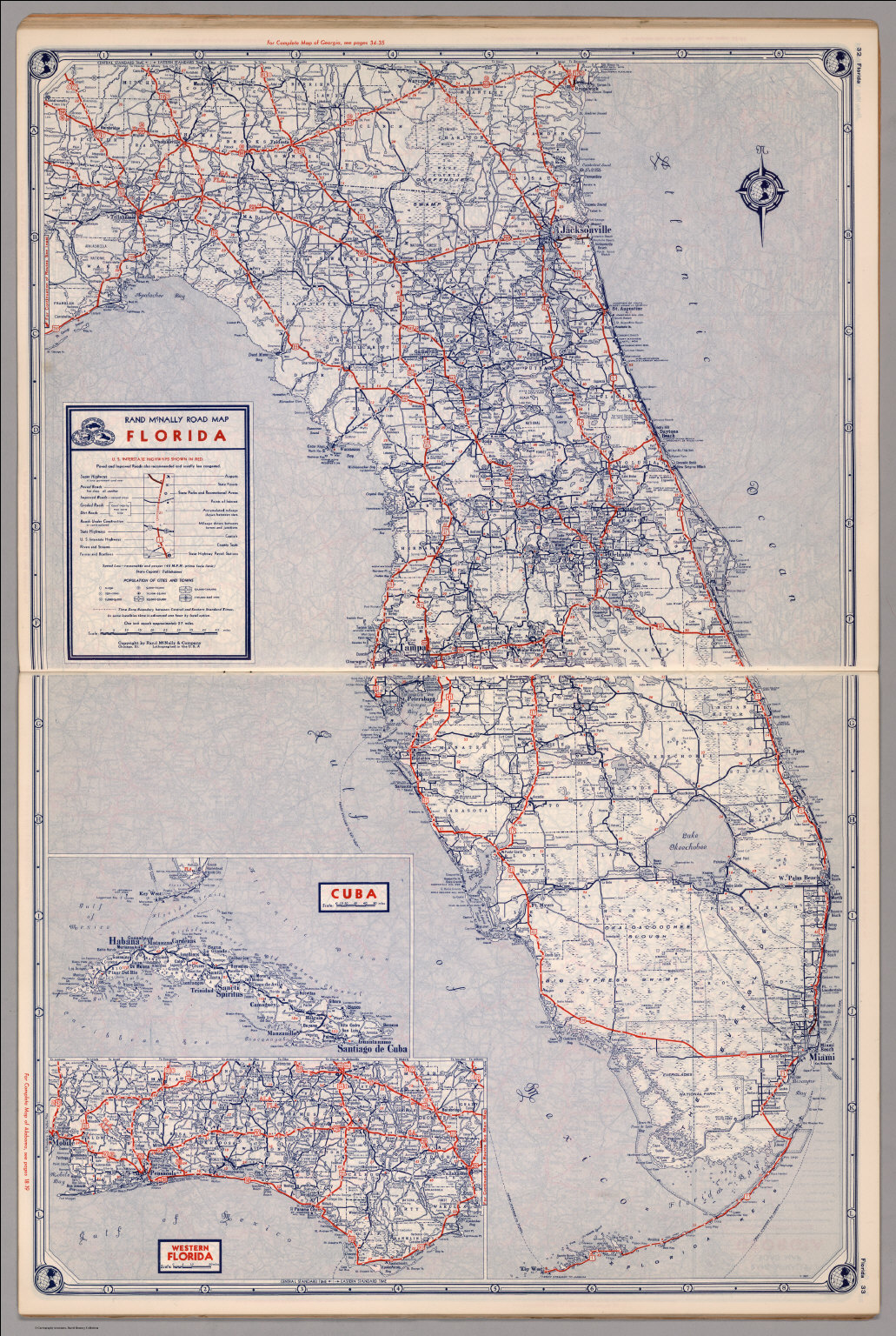 Road map of Florida - David Rumsey Historical Map Collection