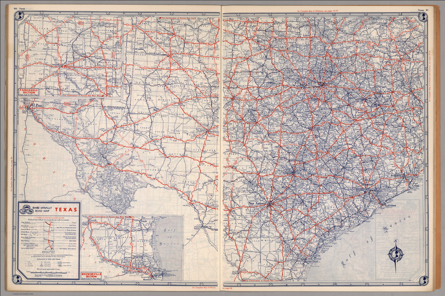 Road map of Texas - David Rumsey Historical Map Collection