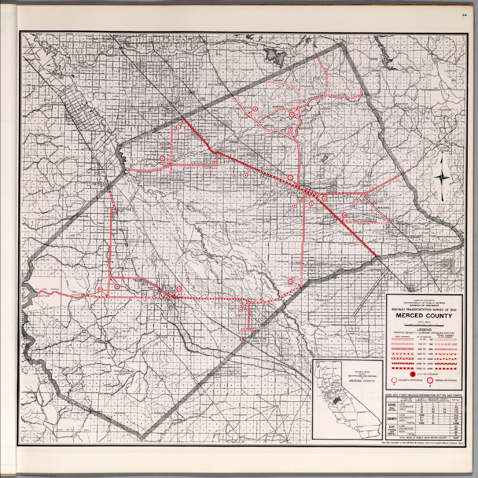Merced County David Rumsey Historical Map Collection