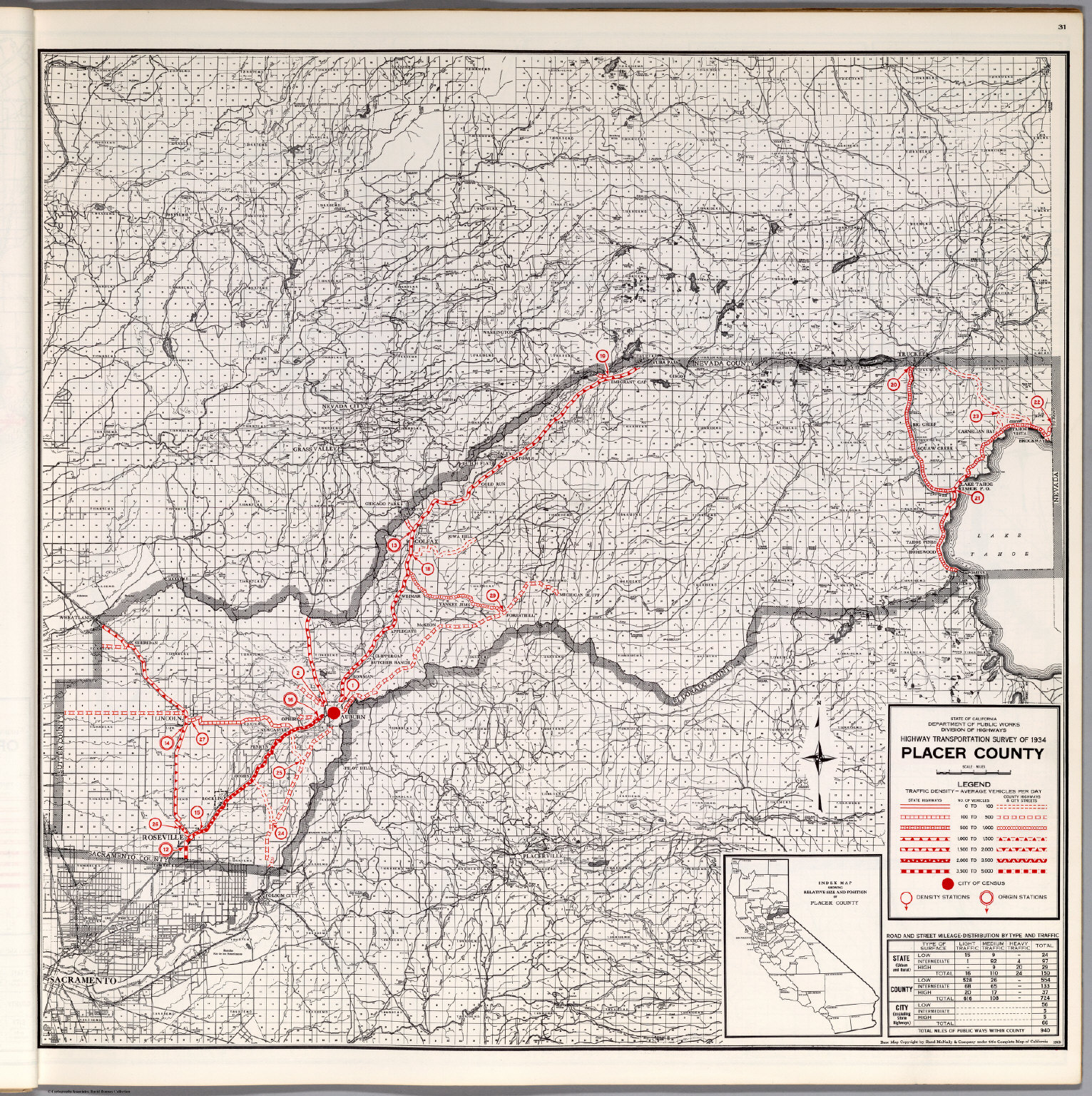 Placer County. - David Rumsey Historical Map Collection
