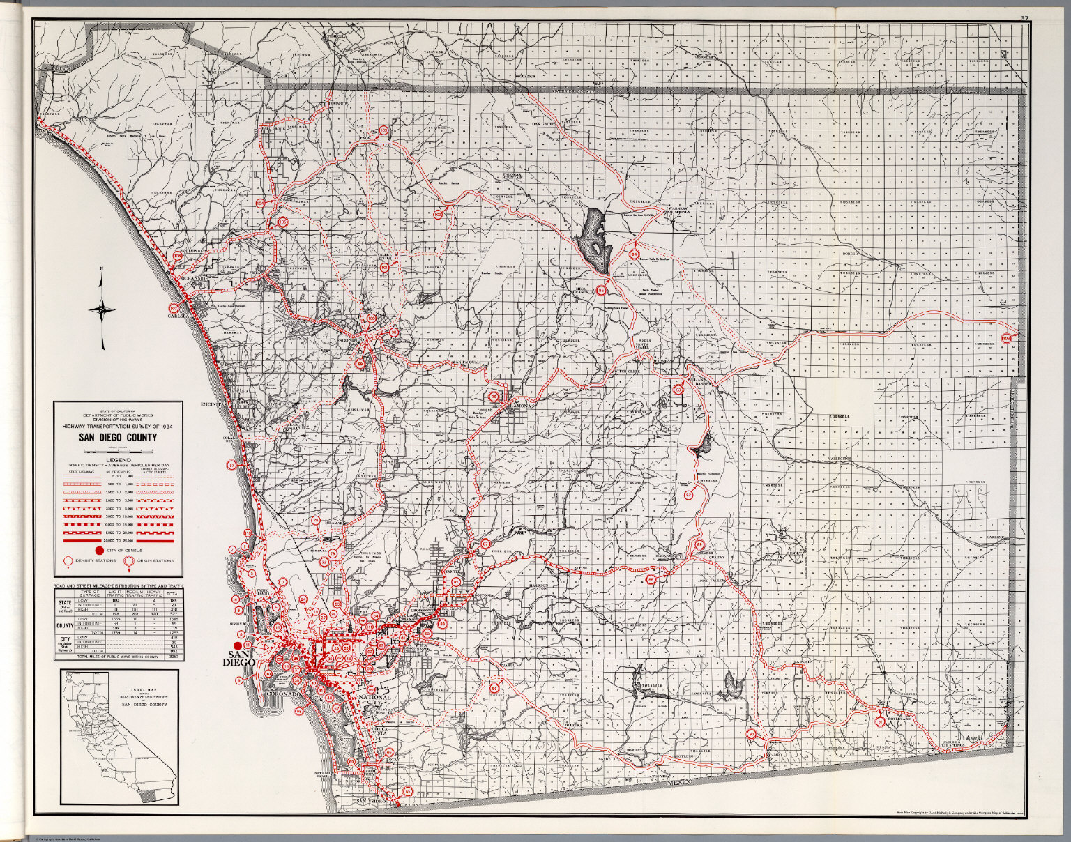 San Diego County David Rumsey Historical Map Collection