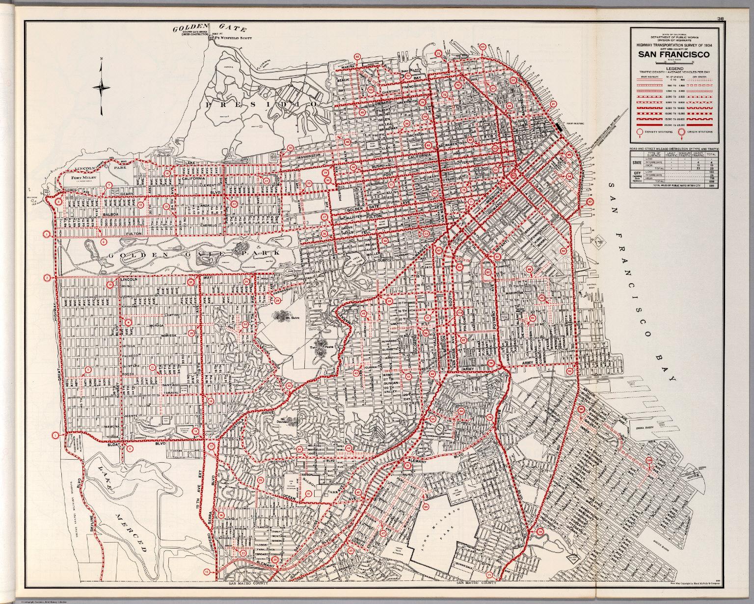 san francisco map 1900 City And County Of San Francisco David Rumsey Historical Map