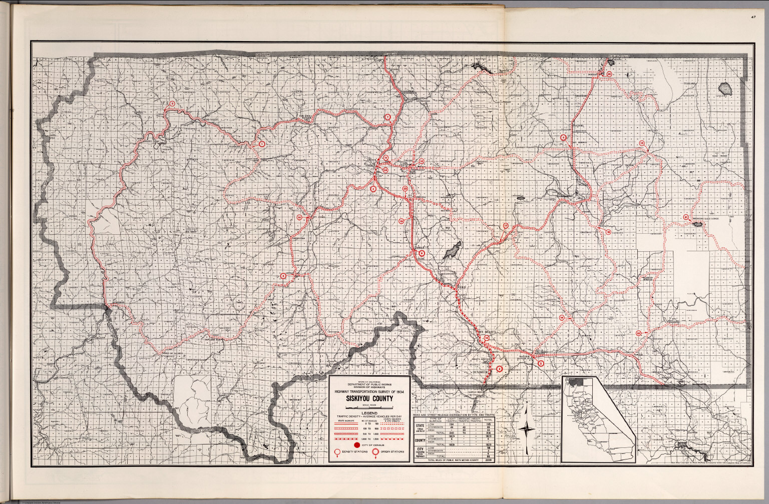 Siskiyou County David Rumsey Historical Map Collection