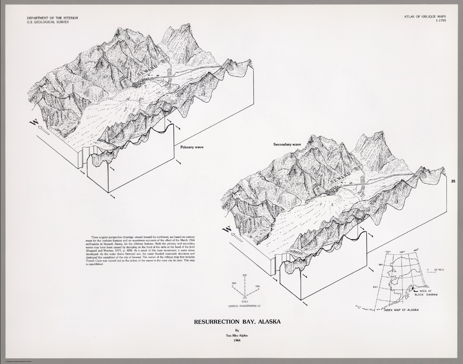Resurrection Bay Alaska Map.Resurrection Bay Alaska David Rumsey Historical Map Collection
