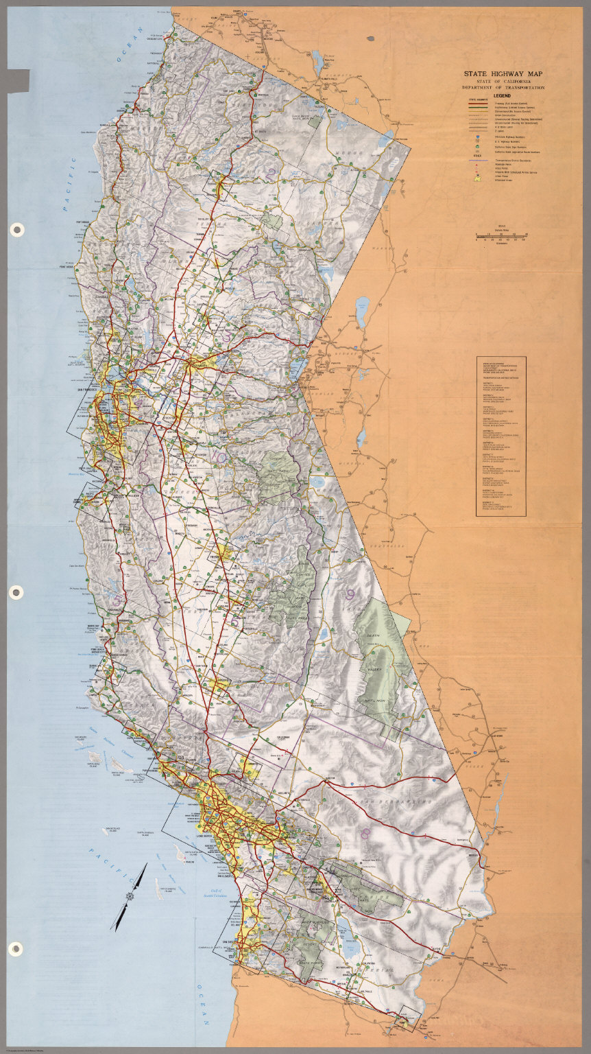 State Highway Map, 1986.