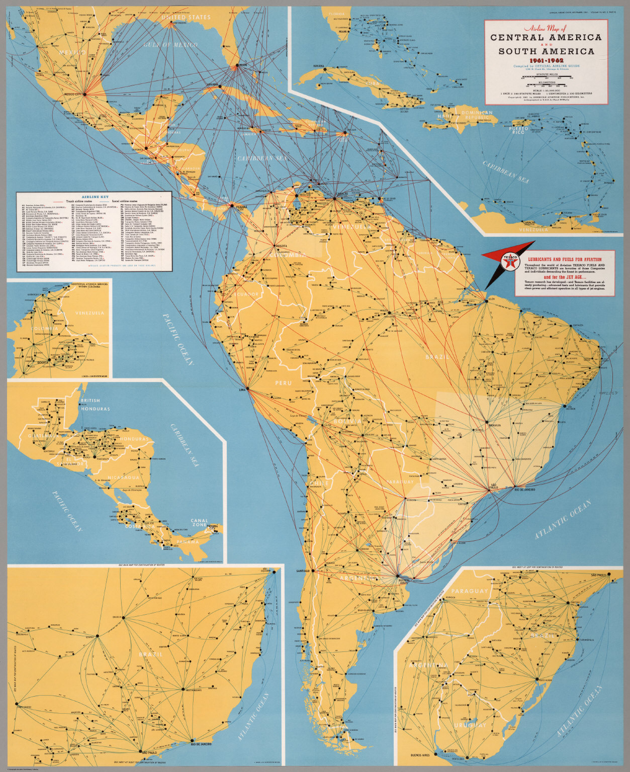 Airline Map of Central America and South America 1961-1962 ... on mexico map, croatia map, panama map, morocco map, haiti map, middle east map, costa rica map, australia map, asia map, western hemisphere map, india map, belize map, italy map, uruguay map, spain map, zimbabwe map, ecuador map, europe map, argentina map, africa map,