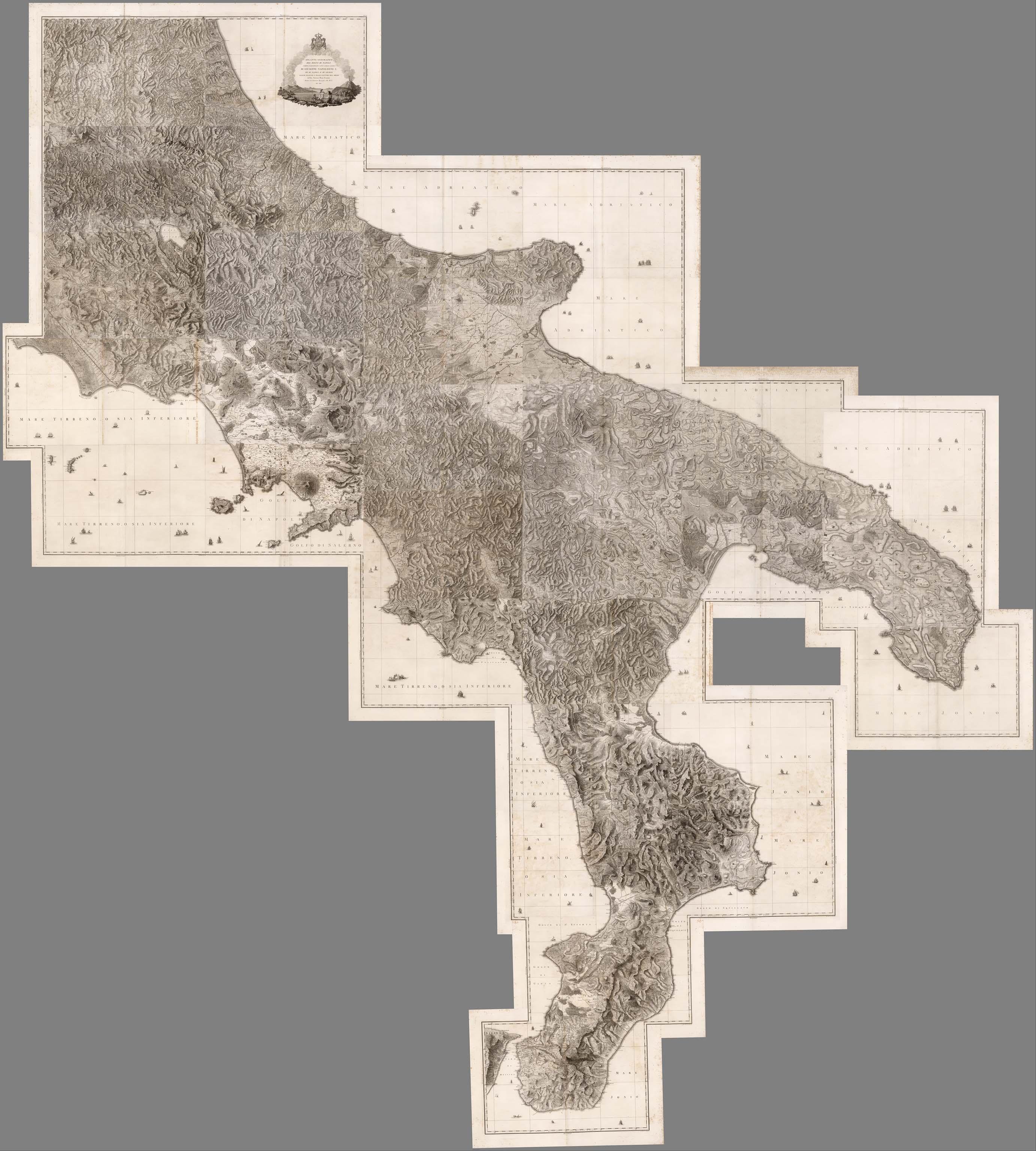 Composite: No.1 - 31. Regno di Napoli.