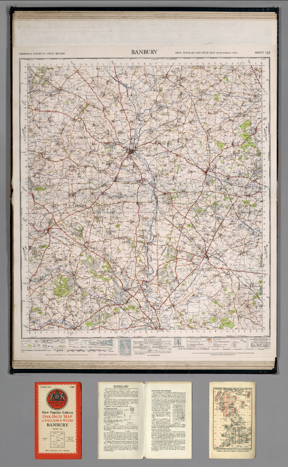 Banbury England Map.Sheet 145 Banbury David Rumsey Historical Map Collection