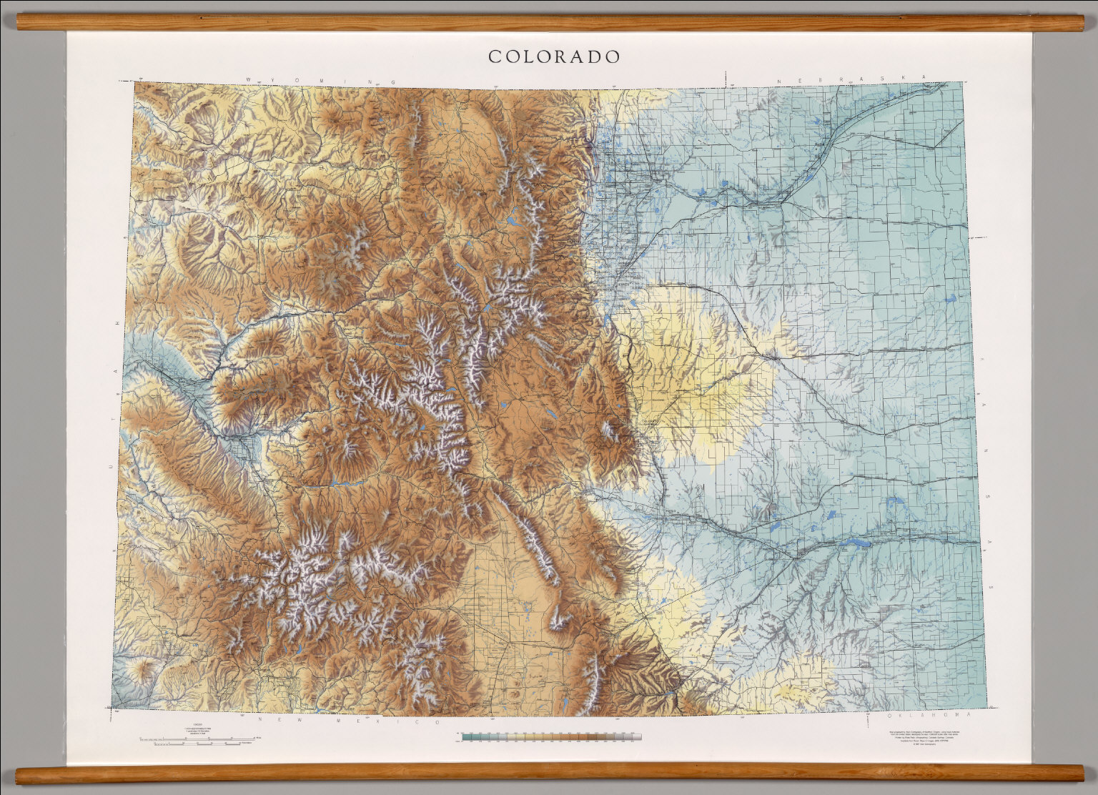 Colorado -- Physical. - David Rumsey Historical Map Collection on climate map colorado, map of colorado, old railroad maps colorado, historical map colorado, service map colorado, geographical regions of colorado, elevation map colorado, window rock national monument colorado, thematic map colorado, geological map colorado, flag of colorado, horseback riding estes park colorado, road map colorado, usa map colorado, topographic map colorado, street map longmont colorado, detailed map colorado, lake avery meeker colorado, state reference map colorado, vail back bowls trail map colorado,