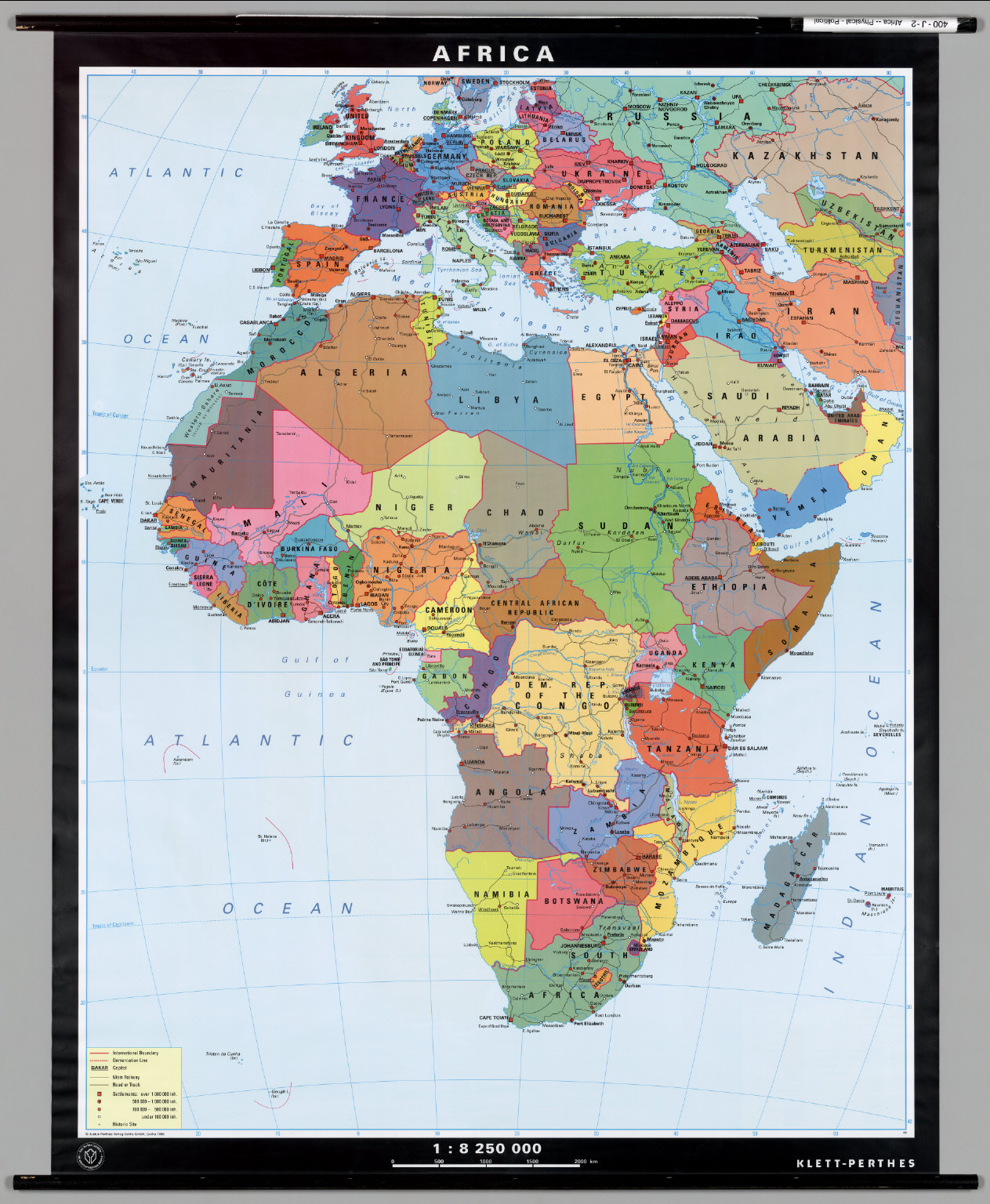 Africa political david rumsey historical map collection africa political gumiabroncs Choice Image