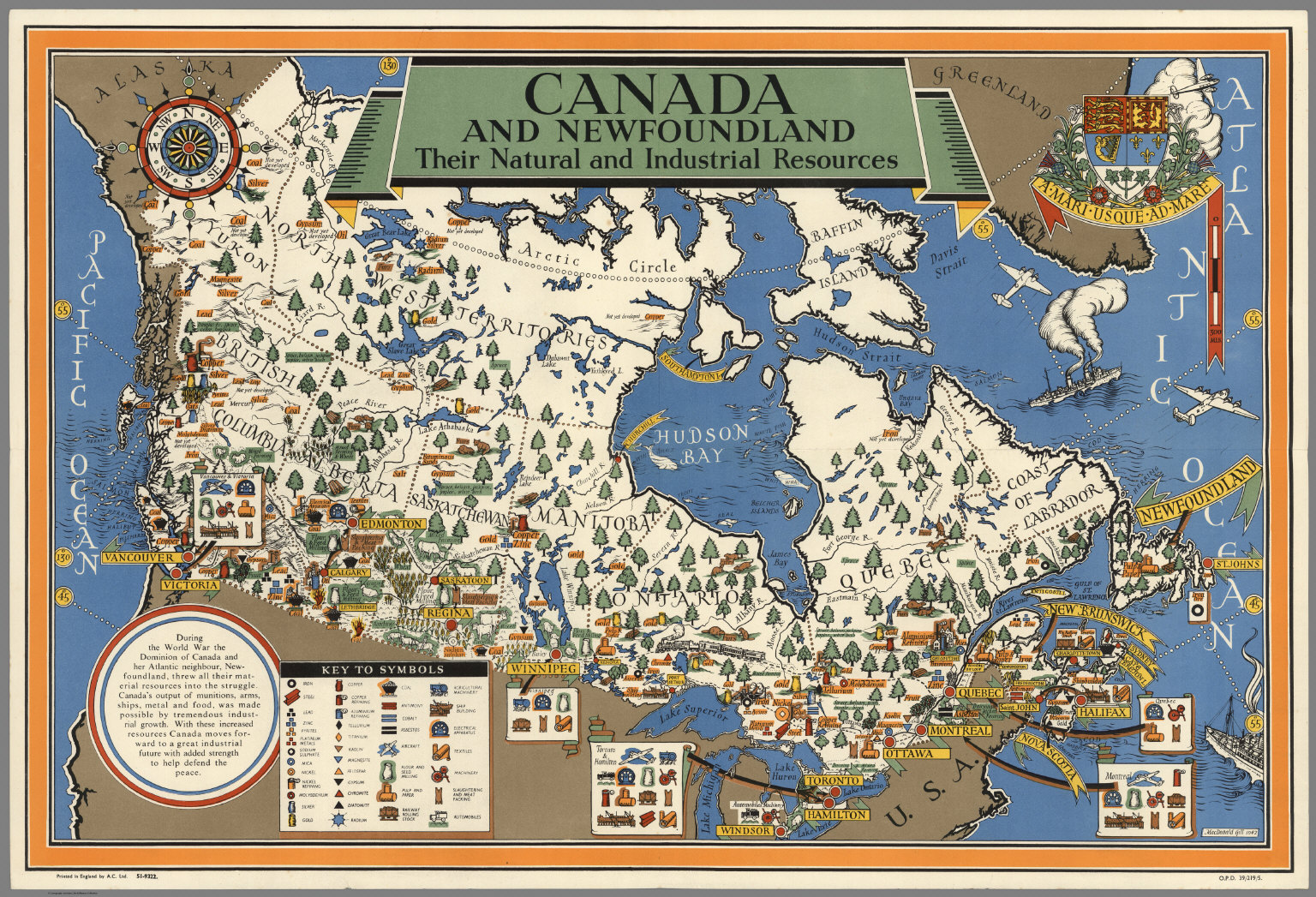Canada And Newfoundland Their Natural And Industrial Resources
