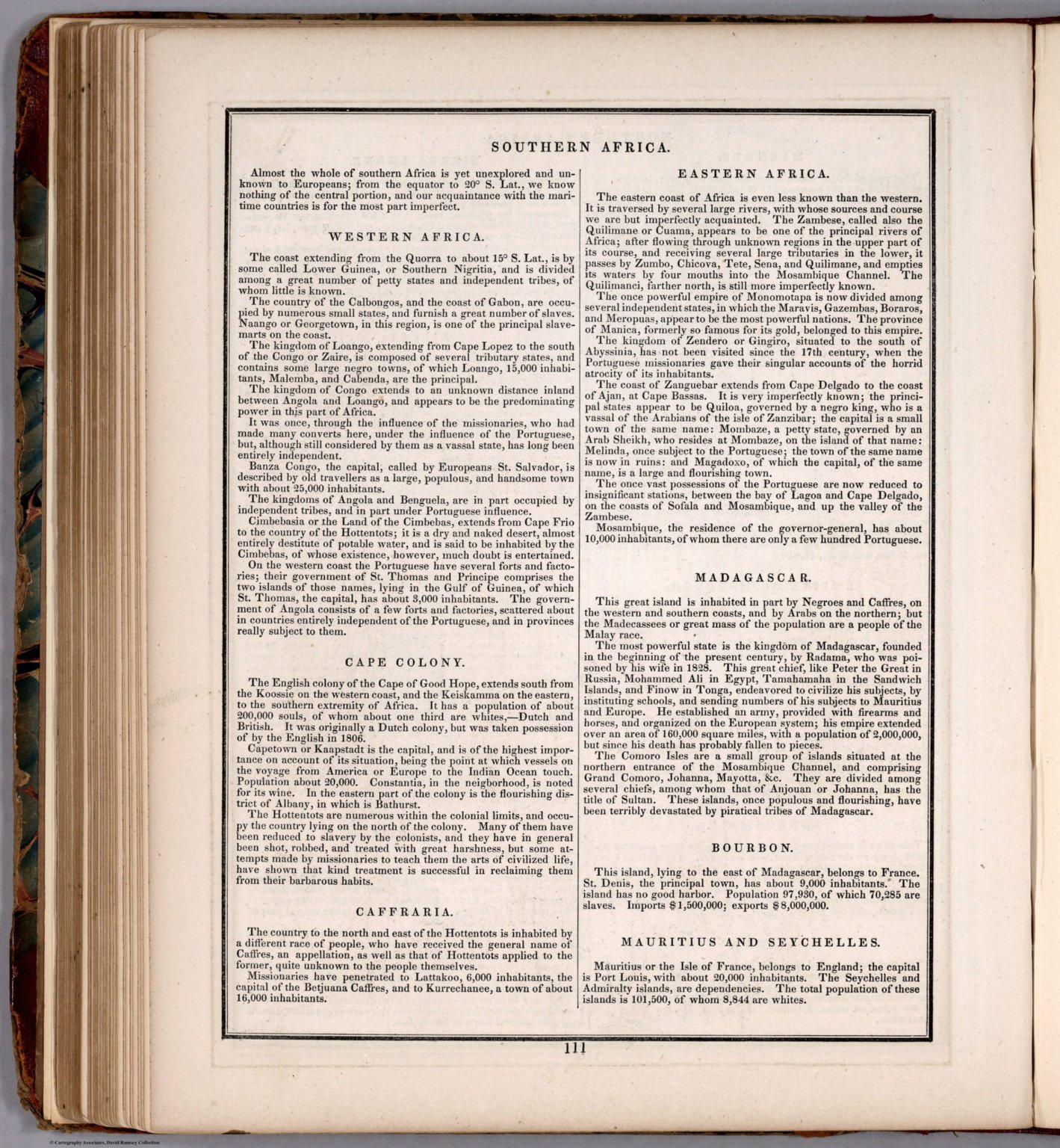 Text Page: Southern Africa