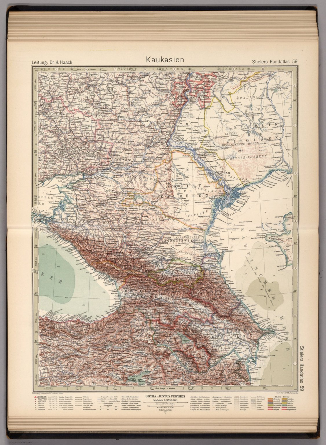 59. Kaukasien. Caucasia.