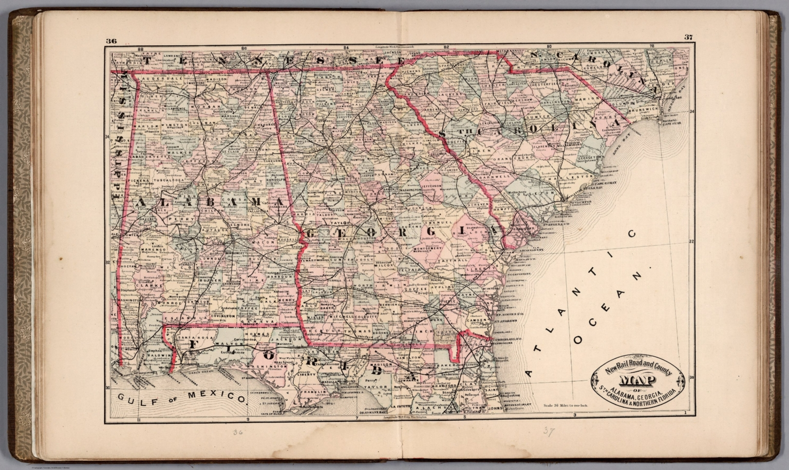 Alabama, Georgia, South Carolina and Northern Florida. - David ...