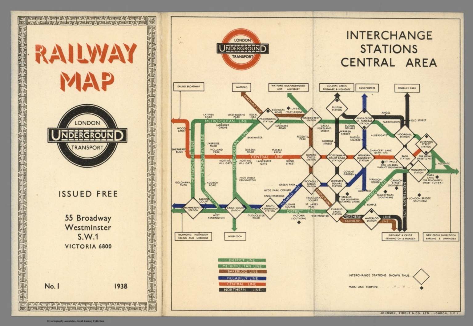 railway map london underground transport interchange stations central area