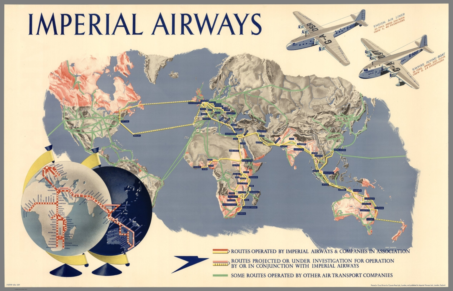 Imperial airways map of the world iap191 20m 537 david imperial airways map of the world iap191 20m 537 gumiabroncs Gallery
