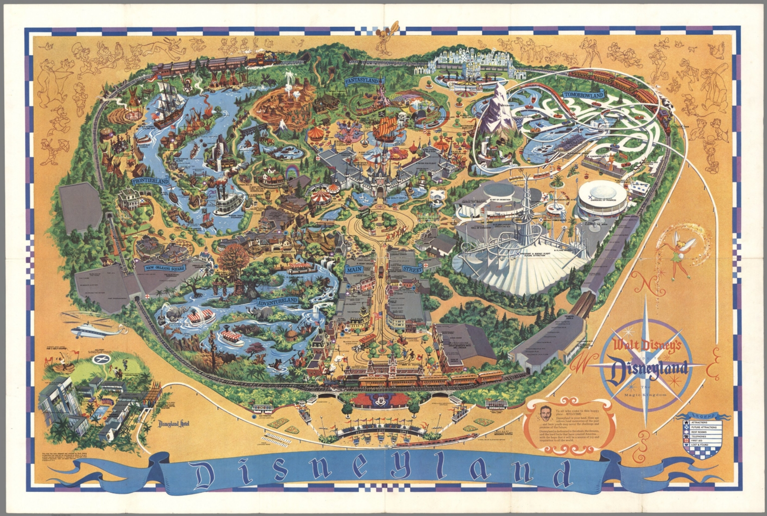 Walt Disney's guide to Disneyland: the magic kingdom.