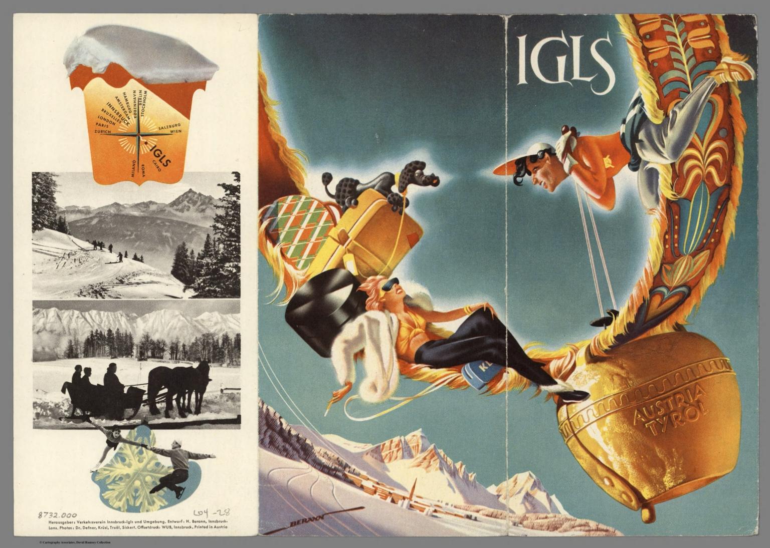 Covers: IGLS, Austria. - David Rumsey Historical Map Collection on austria ski map, eisenstadt austria map, lienz austria map, wattens austria map, leogang austria map, maria alm austria map, gmunden austria map, schladming austria map, mondsee austria map, durnstein austria map, seefeld austria map, schruns austria map, zell am see austria map, semmering austria map, zillertal austria map, gosau austria map, lofer austria map, bad gastein austria map, hall in tirol austria map, kirchberg austria map,