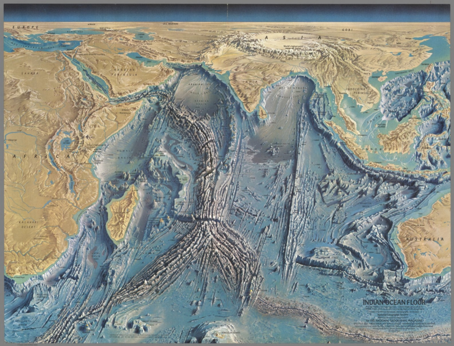 map the mysteries of the ocean floor
