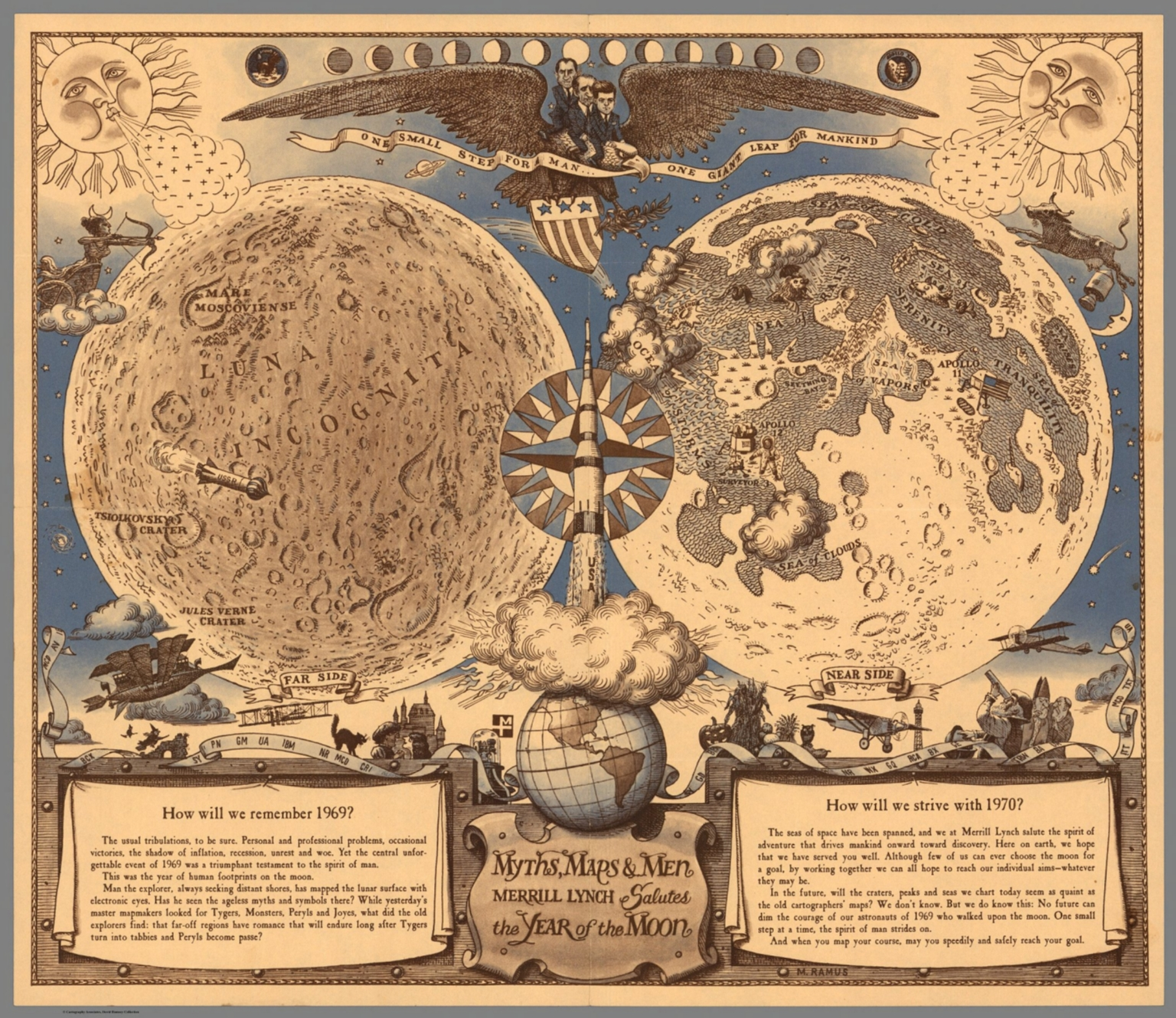 Myths, Maps, and Men. Merrill Lynch Salutes the Year of the Moon ...