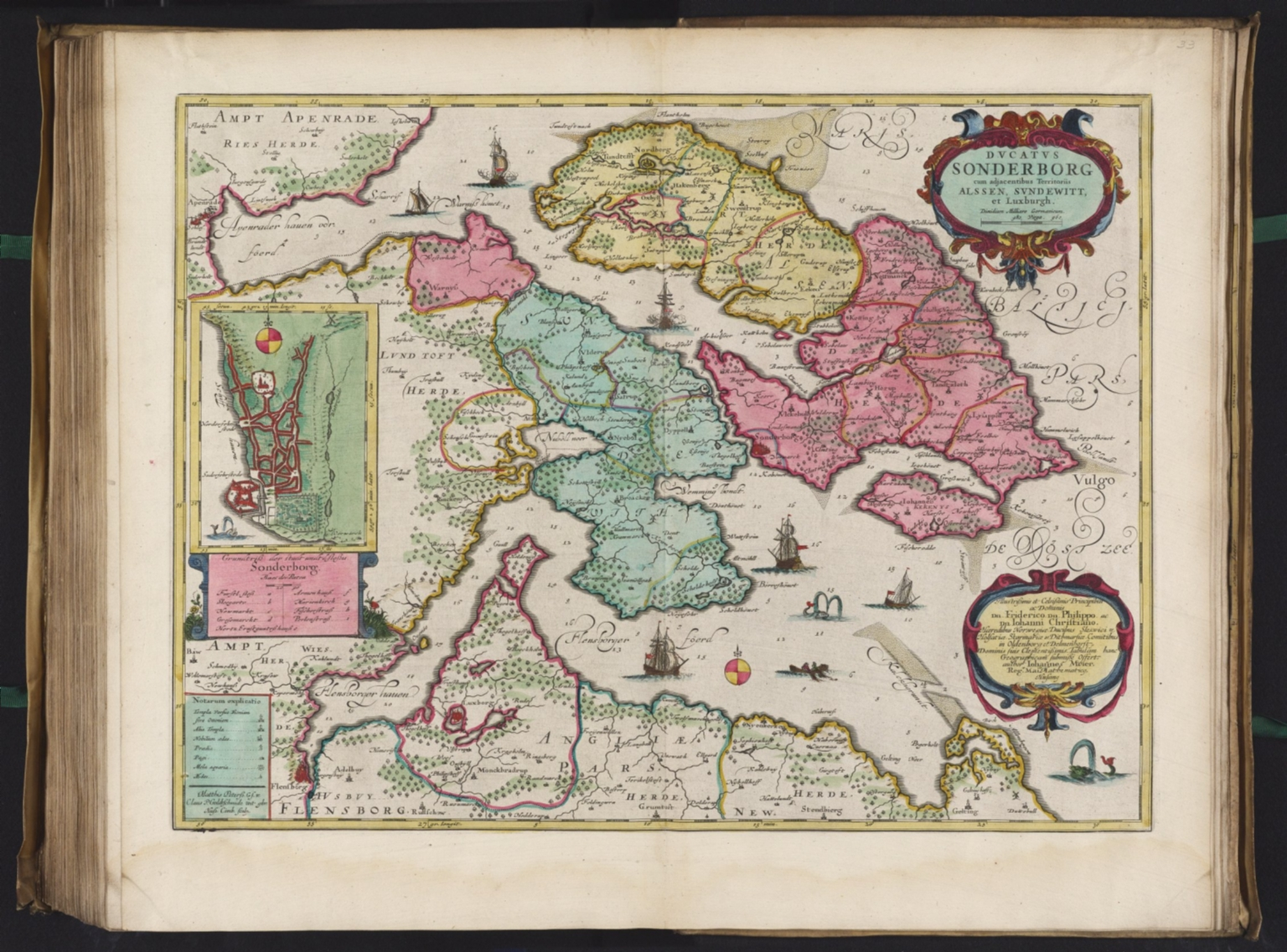 Dvcatvs Sonderborg David Rumsey Historical Map Collection