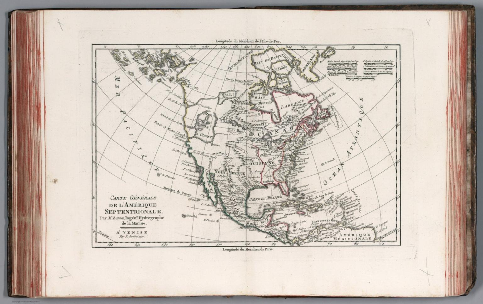 Carte generale de l'Amerique Septentrionale