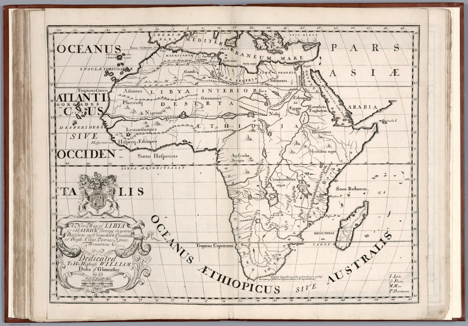 A new map of Libya or old Africk - David Rumsey Historical Map