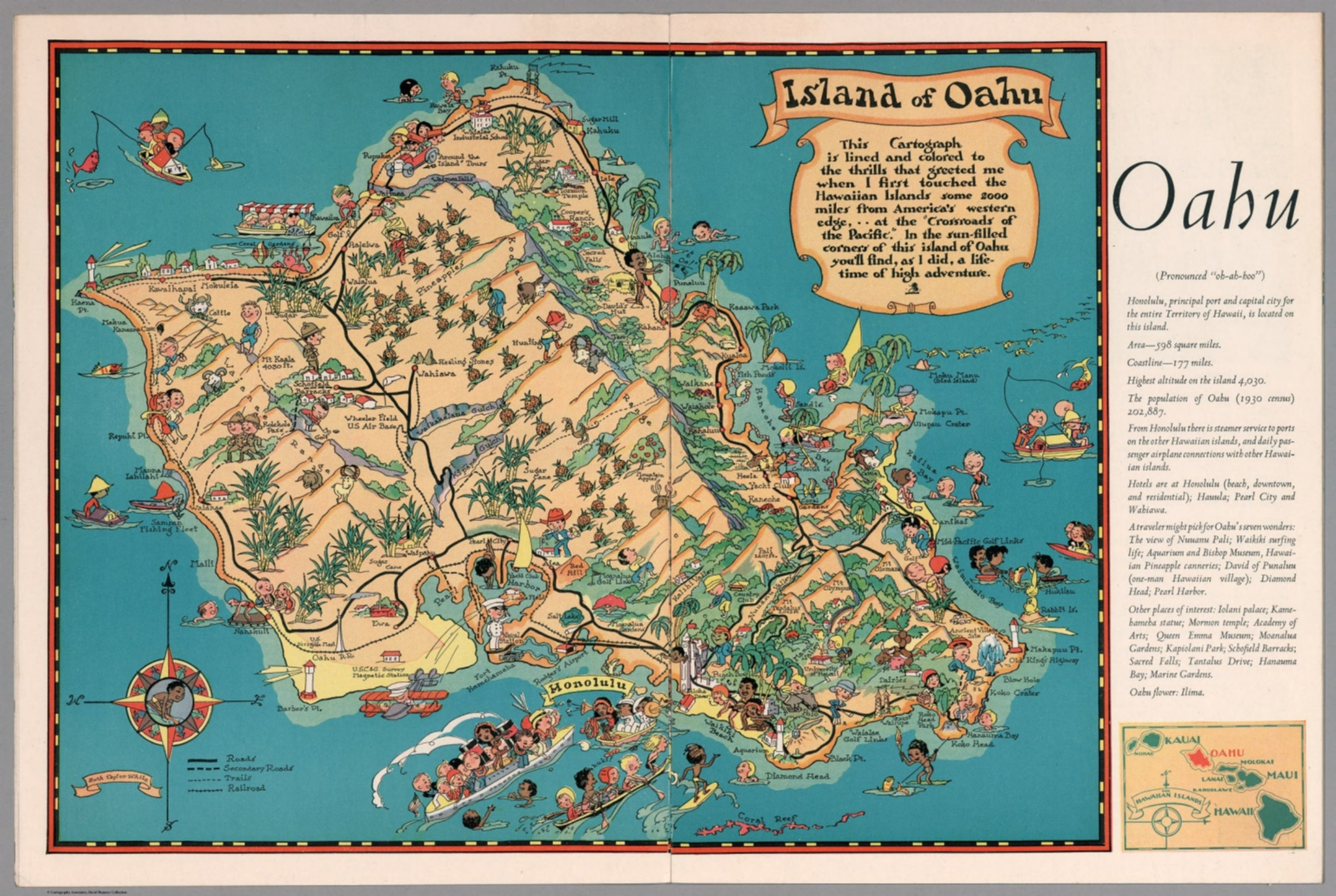 Oahu David Rumsey Historical Map Collection