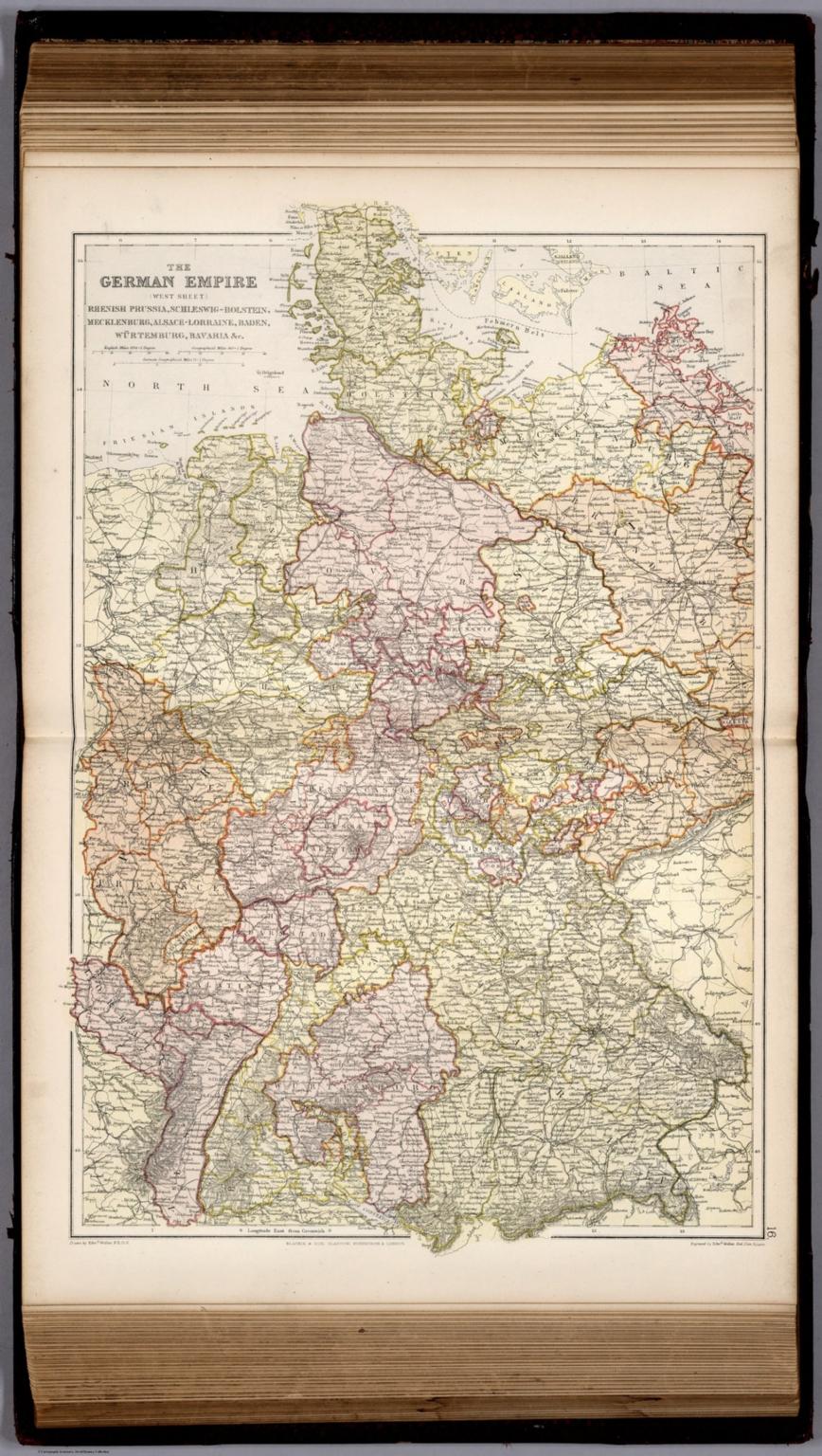 german empire west sheet