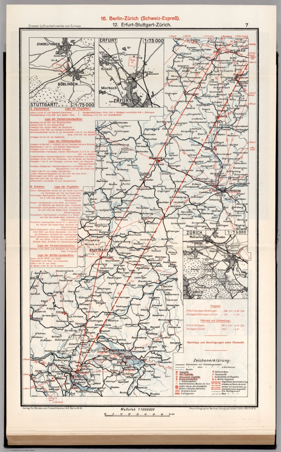 7 (Southern Germany - Switzerland Airline Route Maps ...