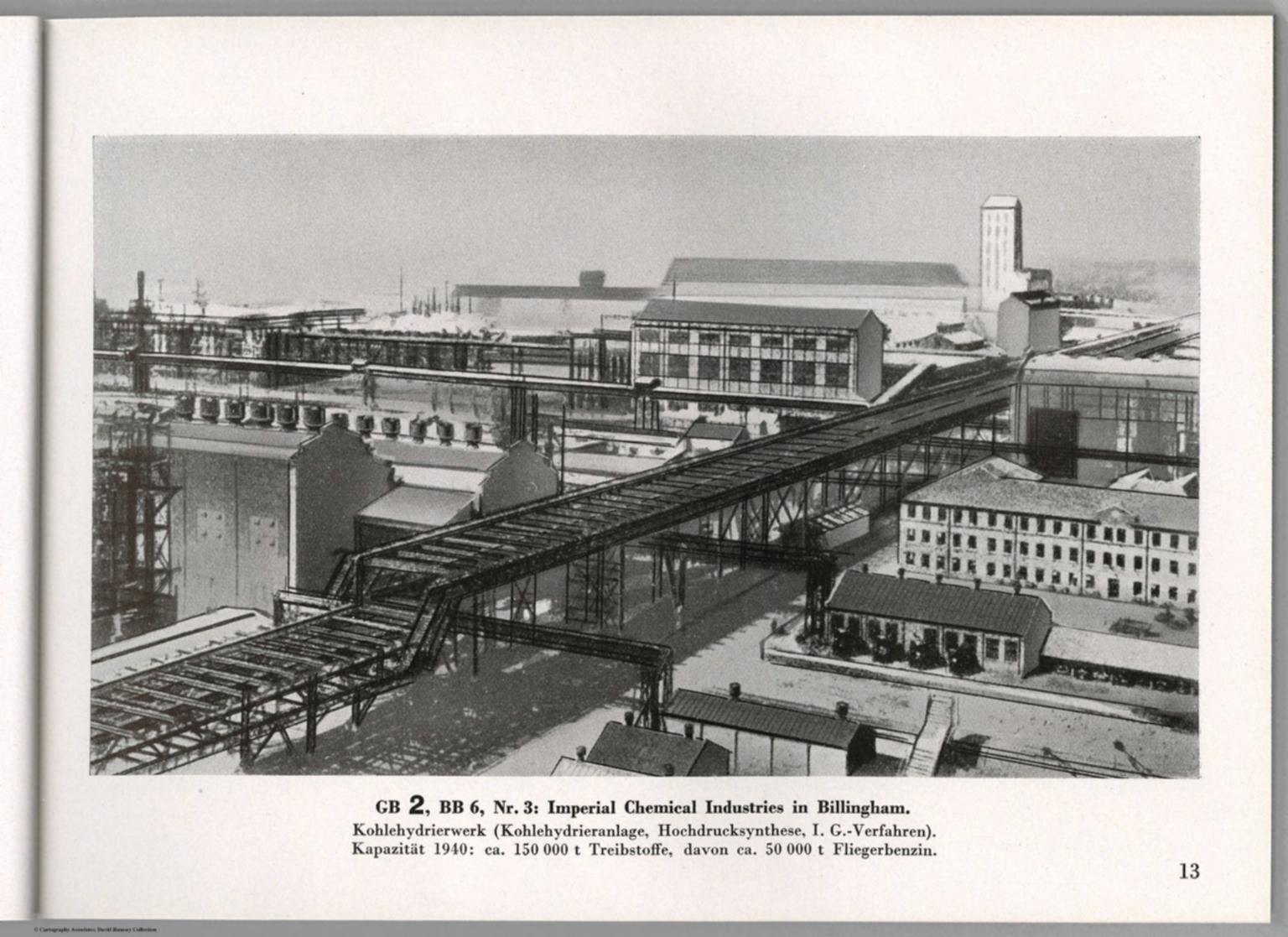View: GB 2, BB 6, Nr. 3: Imperial Chemical Industries in Billingham ...