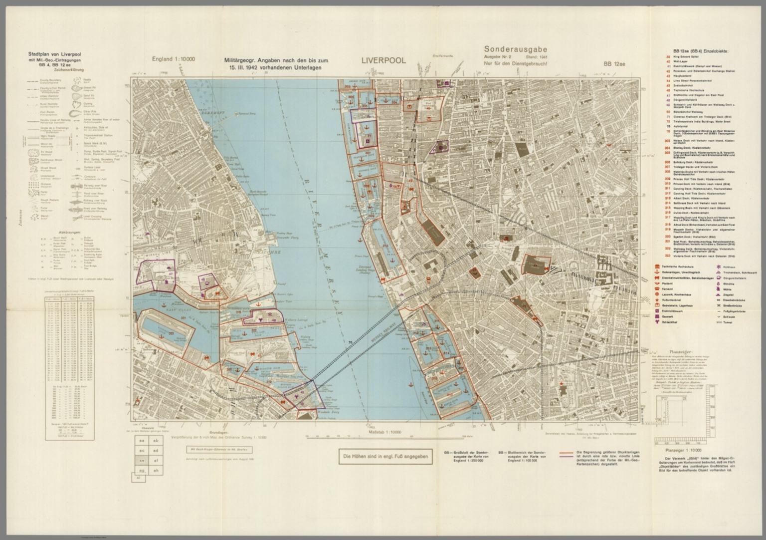Street Map of Liverpool, England with Military-Geographic ... on marylebone map, liverpool england central map, borough map, paddington station map, russell square map, bangkok airport map, leadenhall market map, covent garden map, grosvenor square map, camden town map, east india map, west end map, tower hill map,