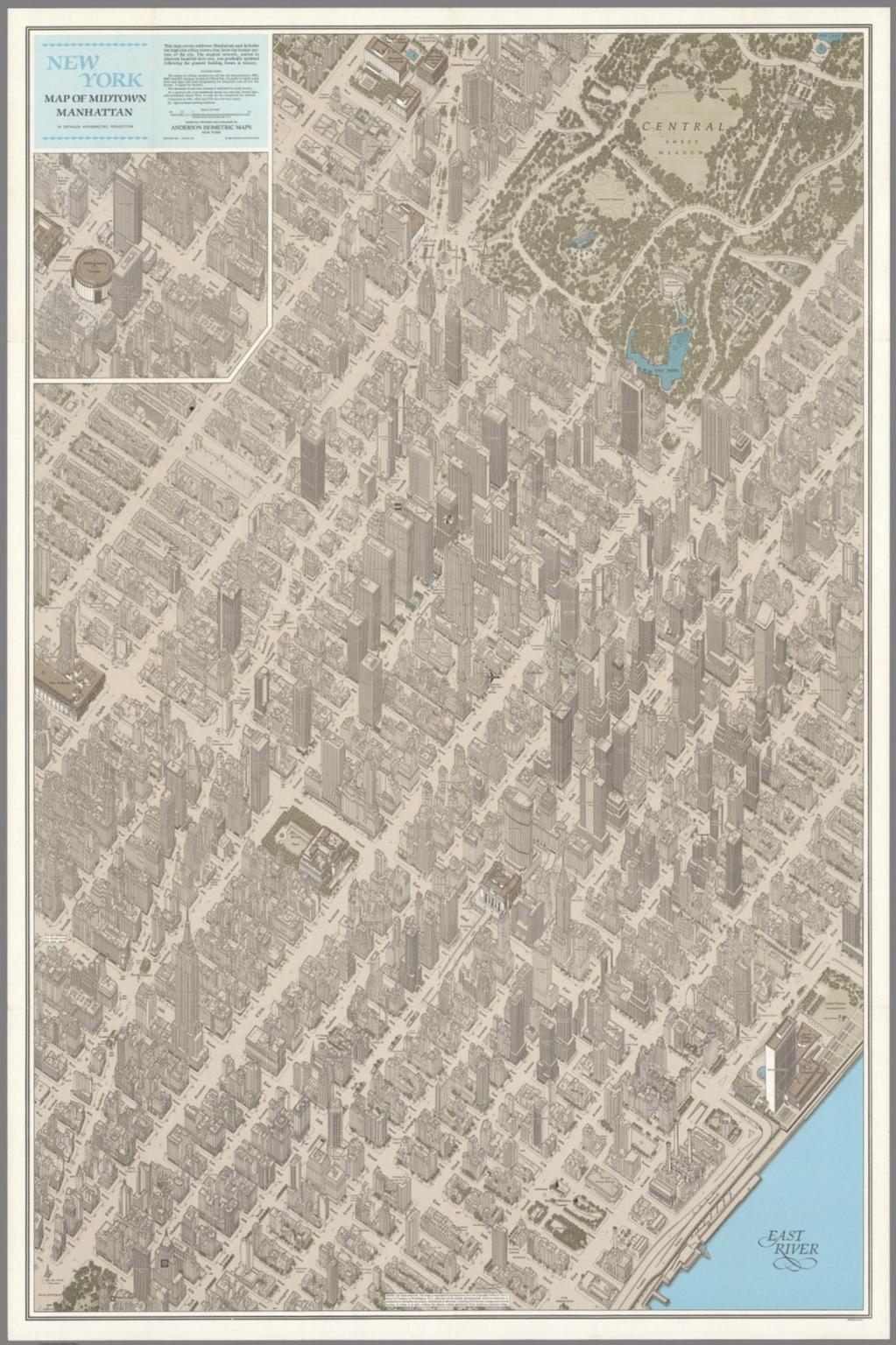 new york map of midtown manhattan