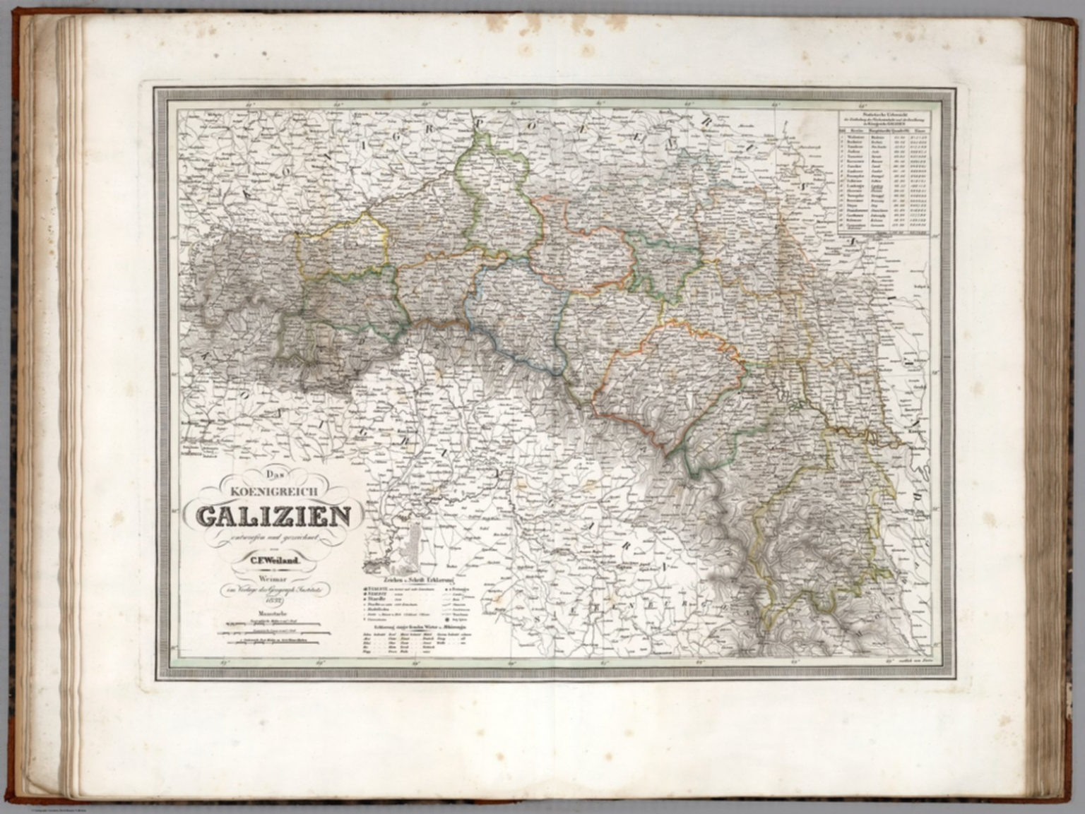 Das Koenigreich Galizien Kingdom Of Galicia Eastern Europe