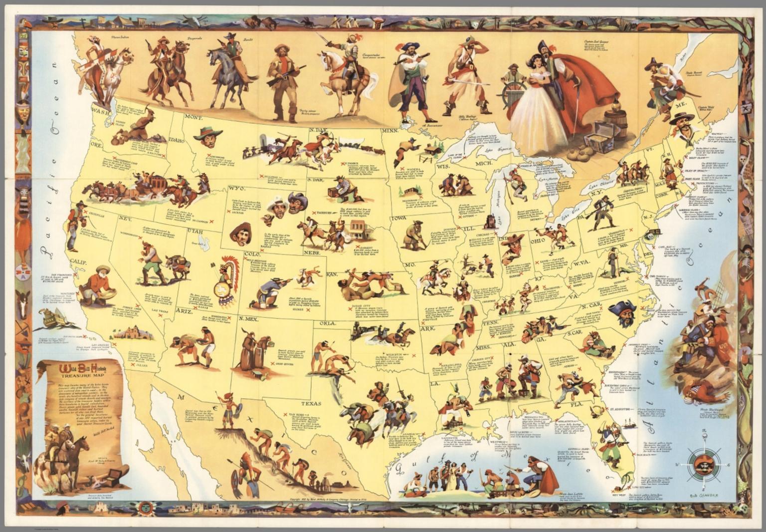 Treasure Maps Texas