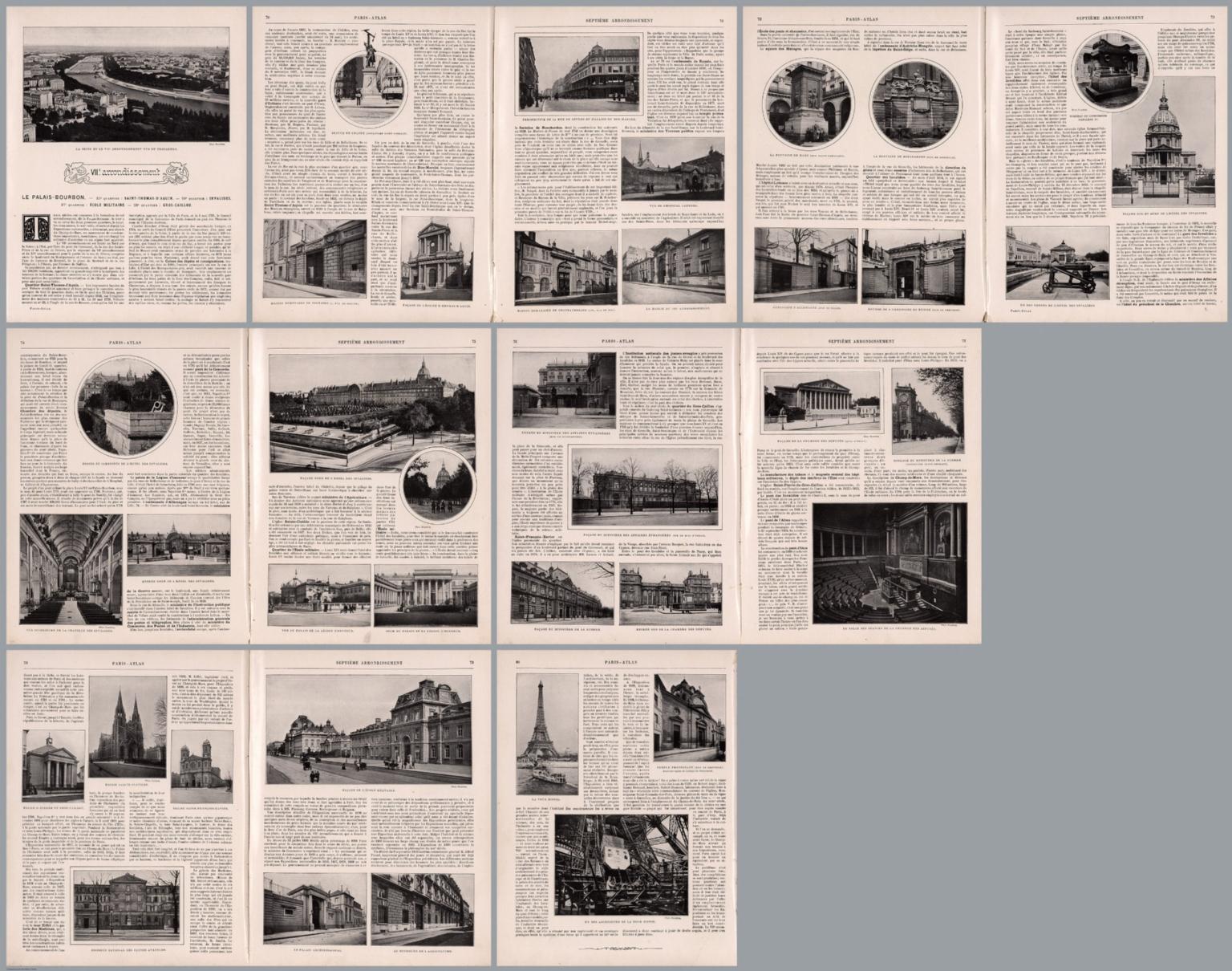 Composite Text: Paris - VIIe arrondissement.