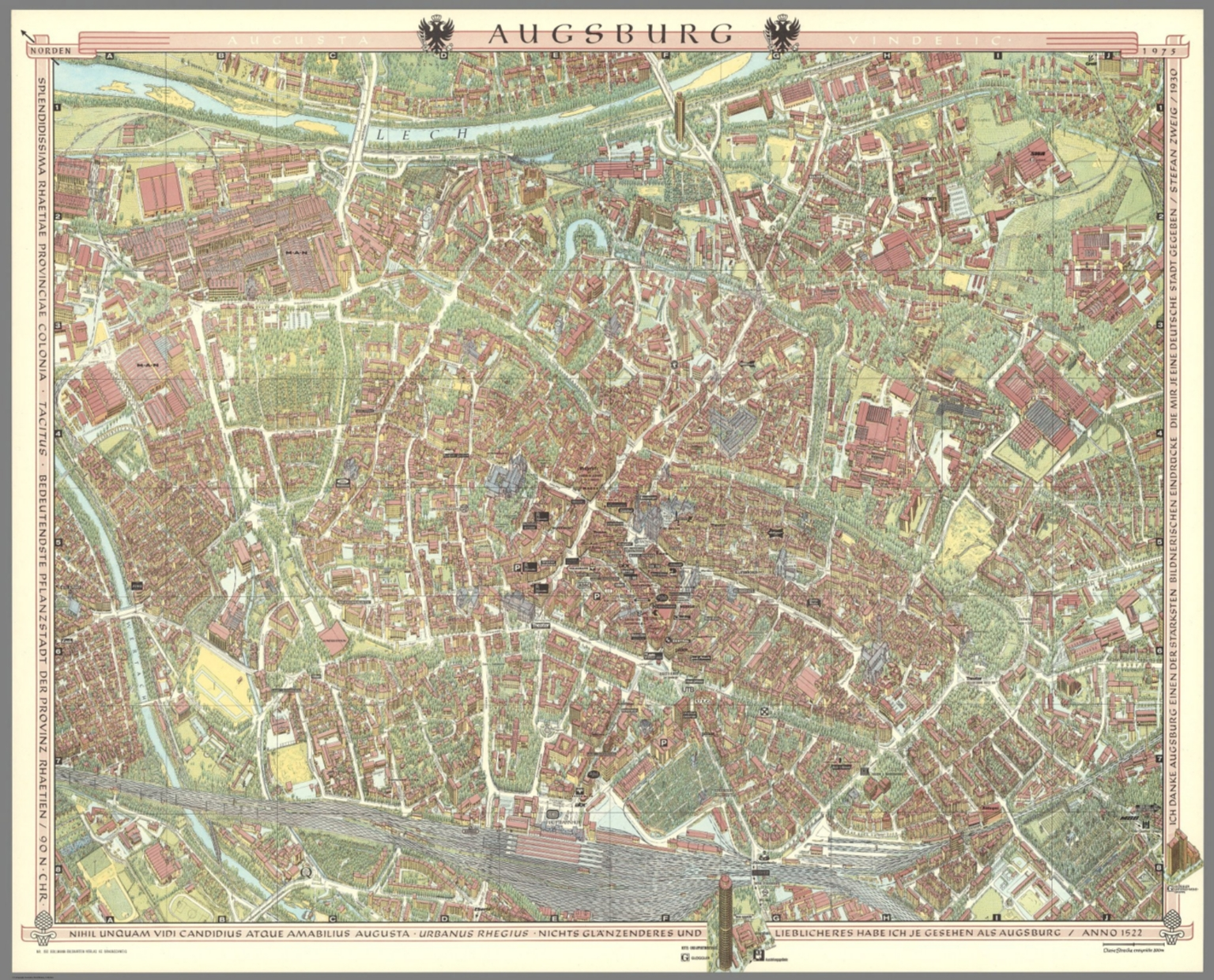 Augsburg Germany David Rumsey Historical Map Collection
