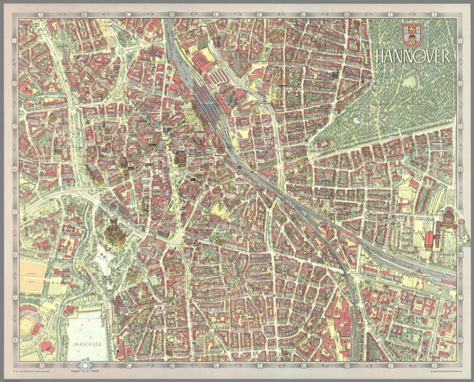 Hannover Germany David Rumsey Historical Map Collection