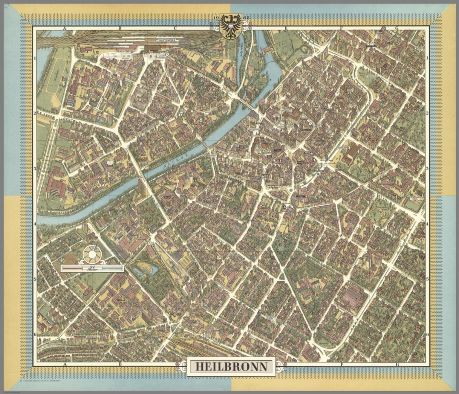 Heilbronn Germany David Rumsey Historical Map Collection