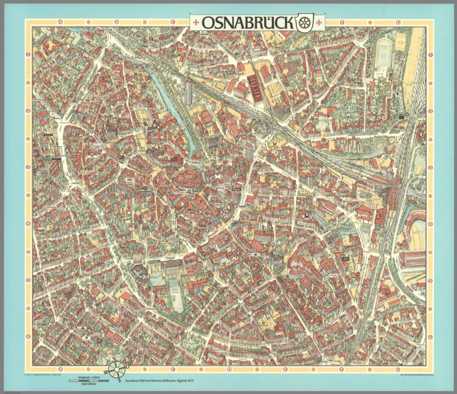 Osnabrueck Germany David Rumsey Historical Map Collection