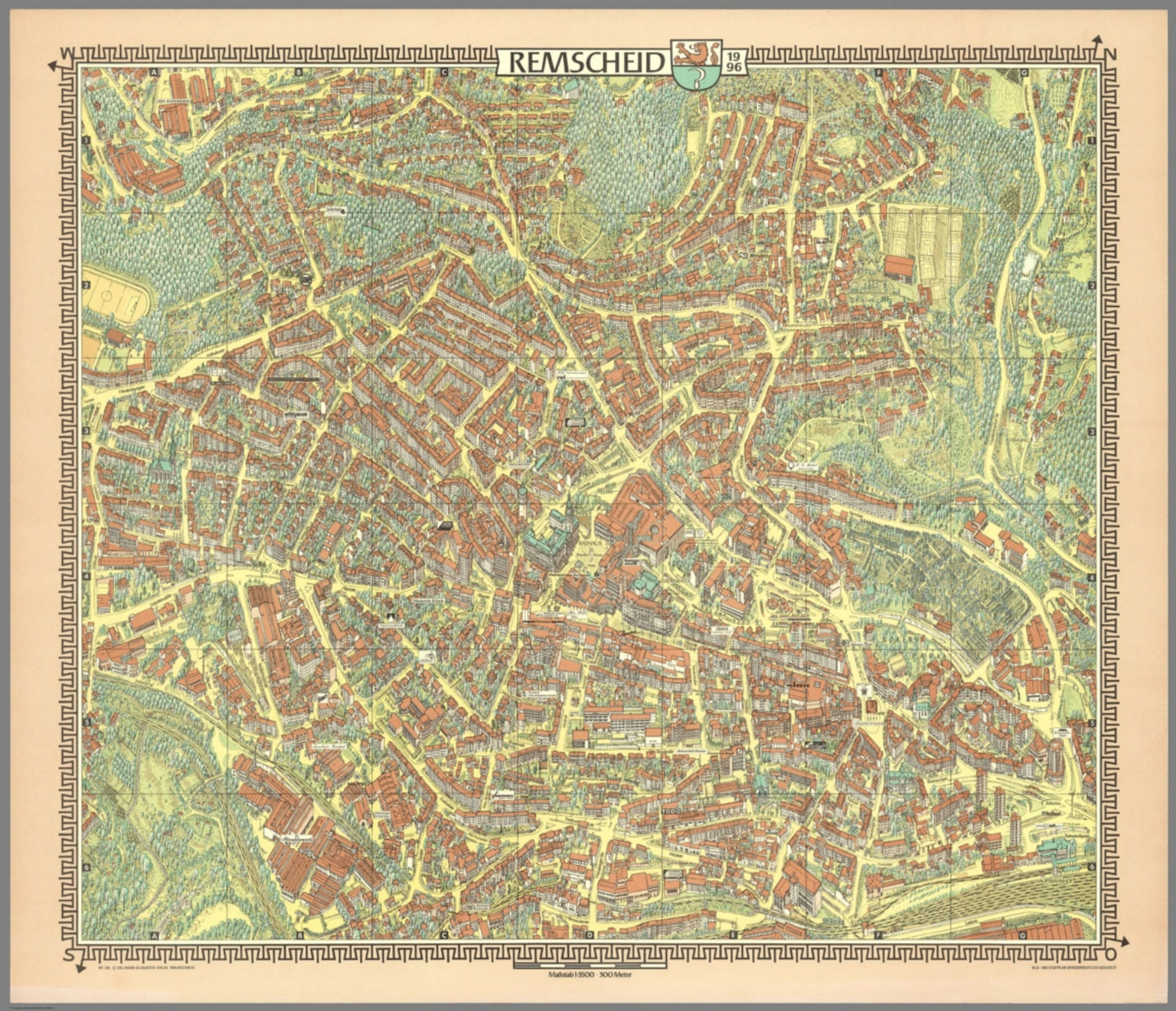 Remscheid Germany David Rumsey Historical Map Collection
