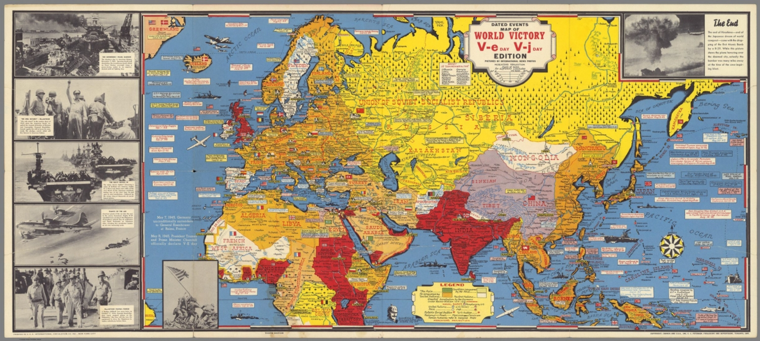 Dated events map of world war ii victory david rumsey historical dated events map of world war ii victory gumiabroncs Image collections