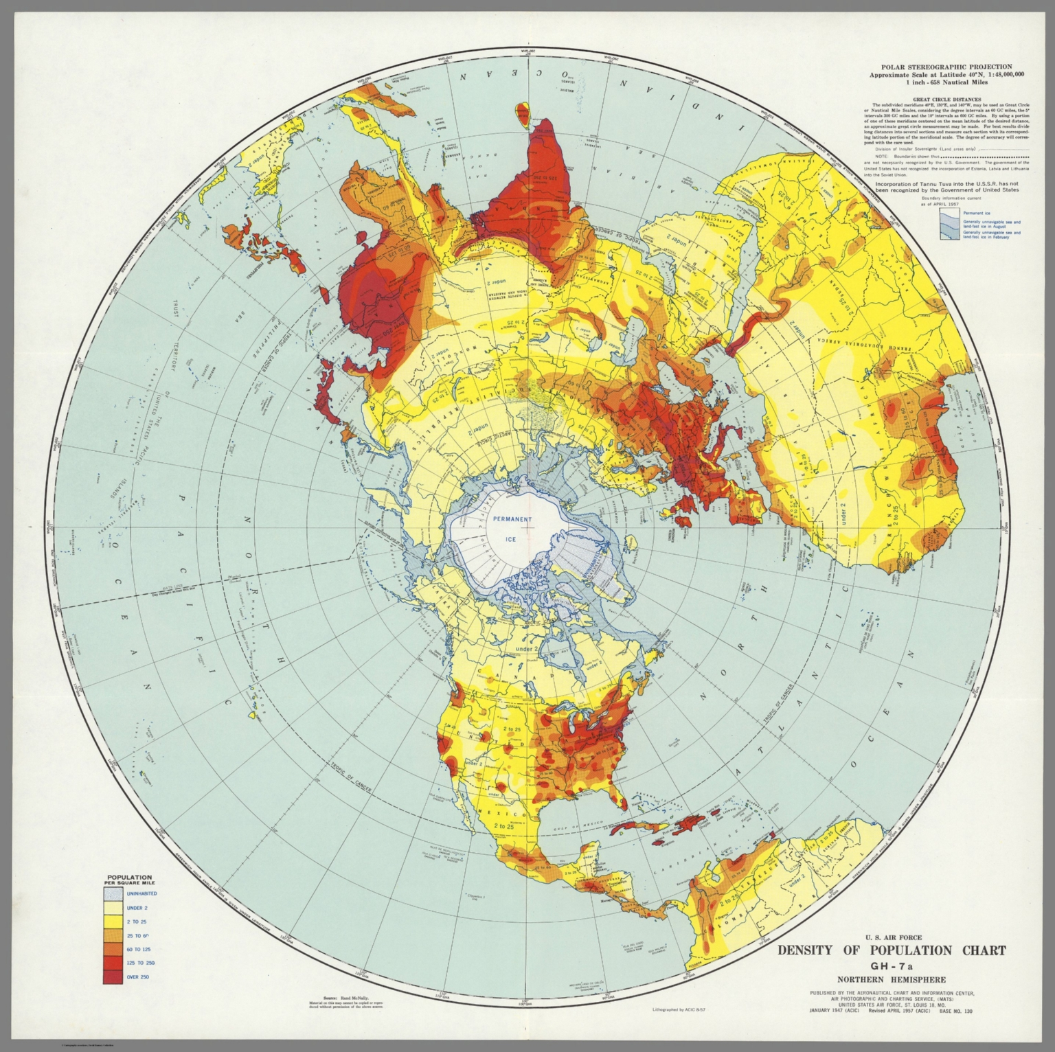 u s air force density of population chart gh 7a northern hemisphere