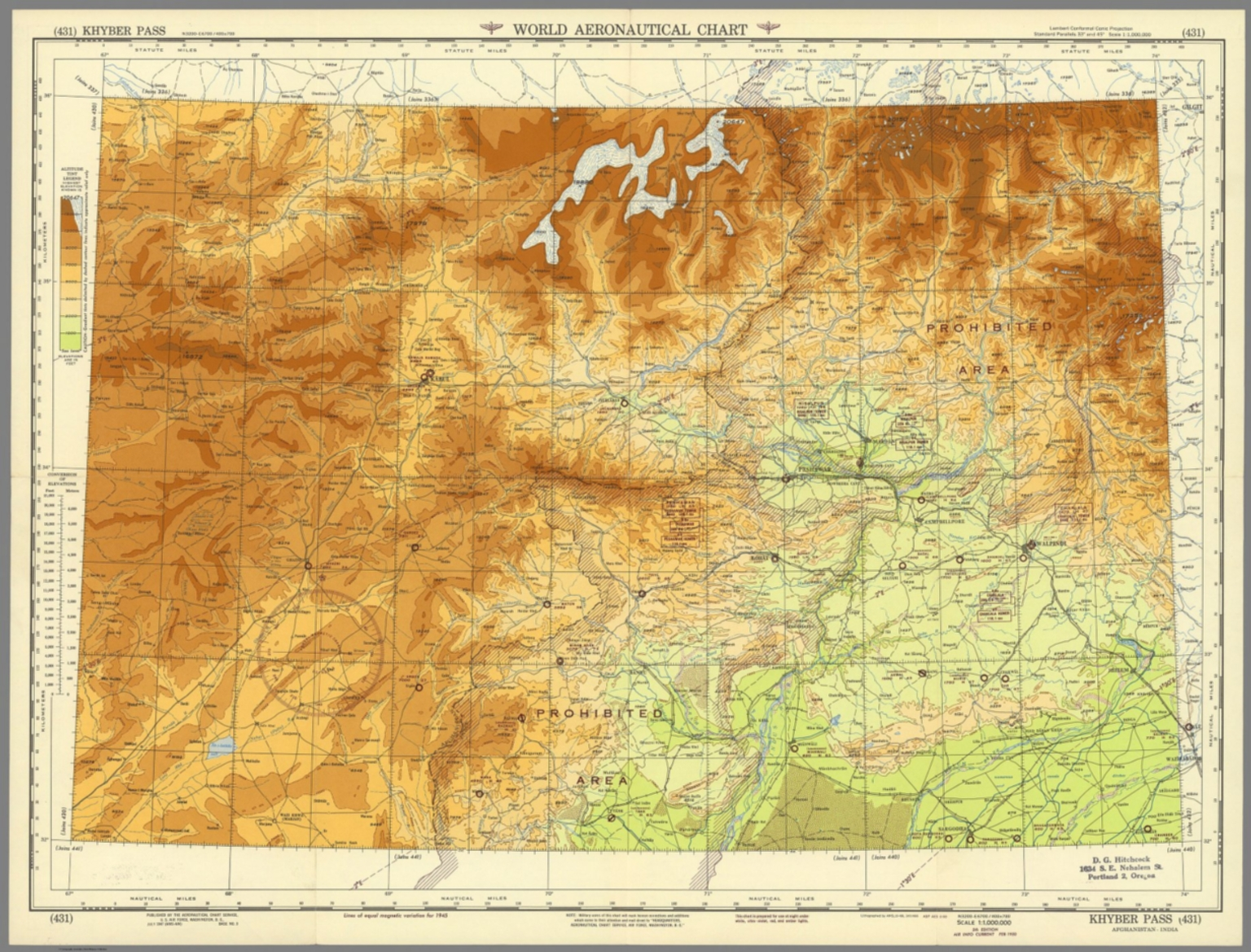 World aeronautical chart khyber pass 431 david rumsey georeference this map buy print export gumiabroncs Image collections