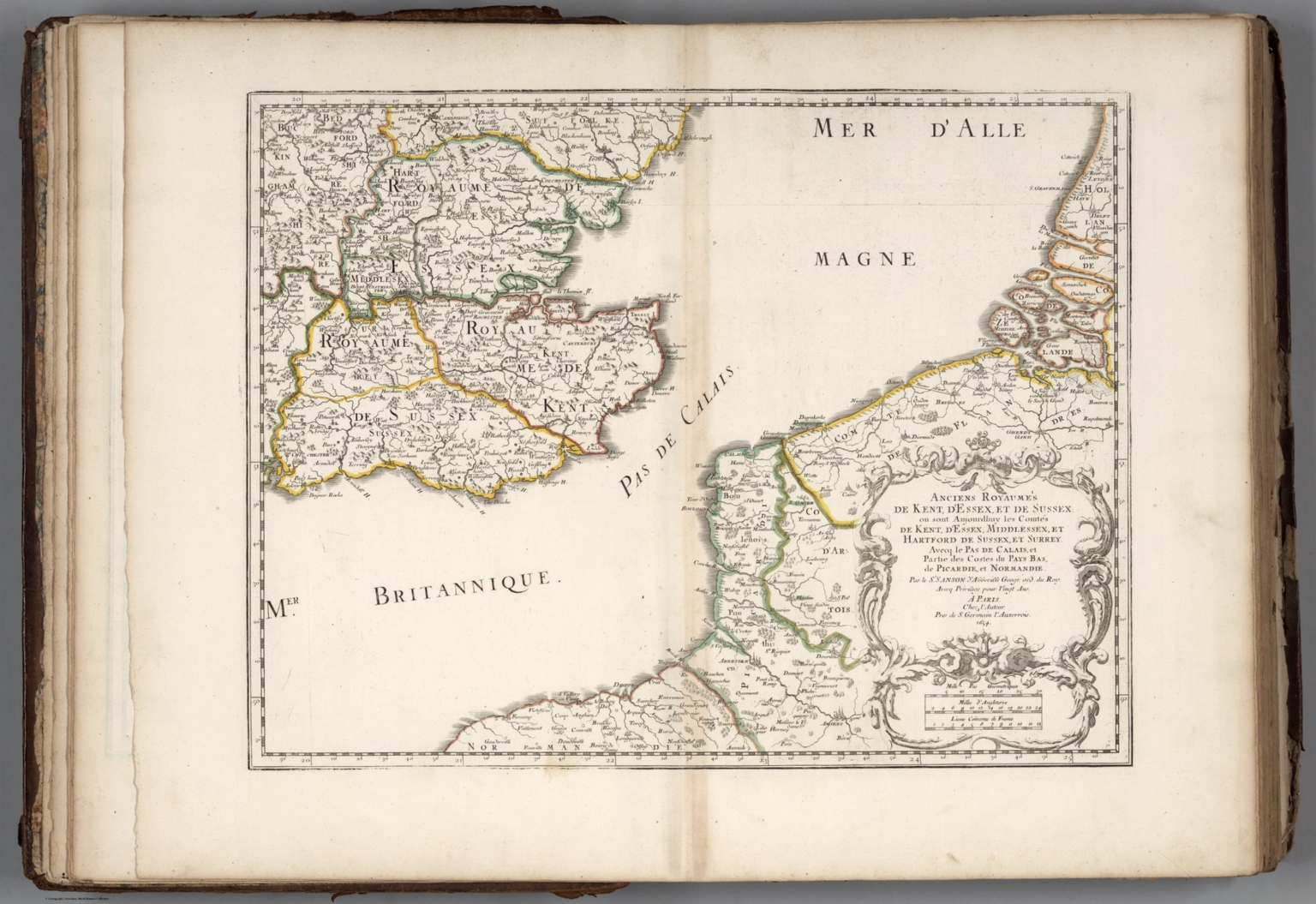 Ancient Kingdoms Of Kent Essex And Sussex England David Rumsey