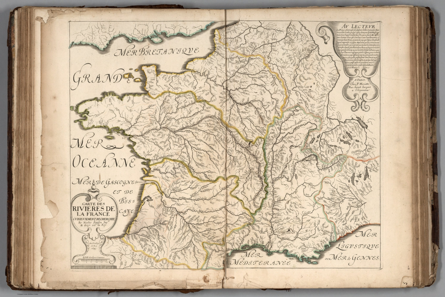 Rivers Of France David Rumsey Historical Map Collection