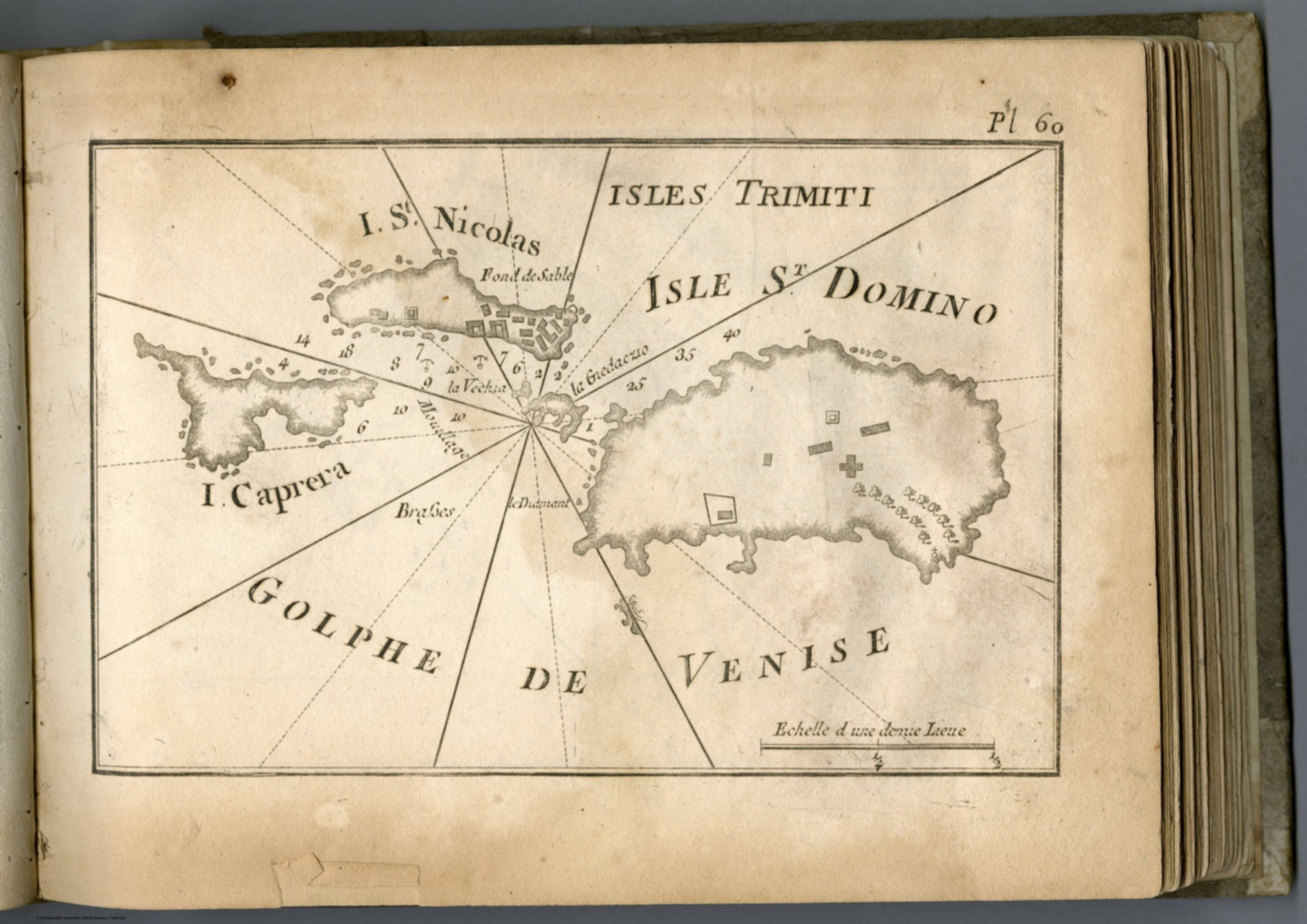 Pl 60 Tremiti Islands Italy David Rumsey Historical Map Collection